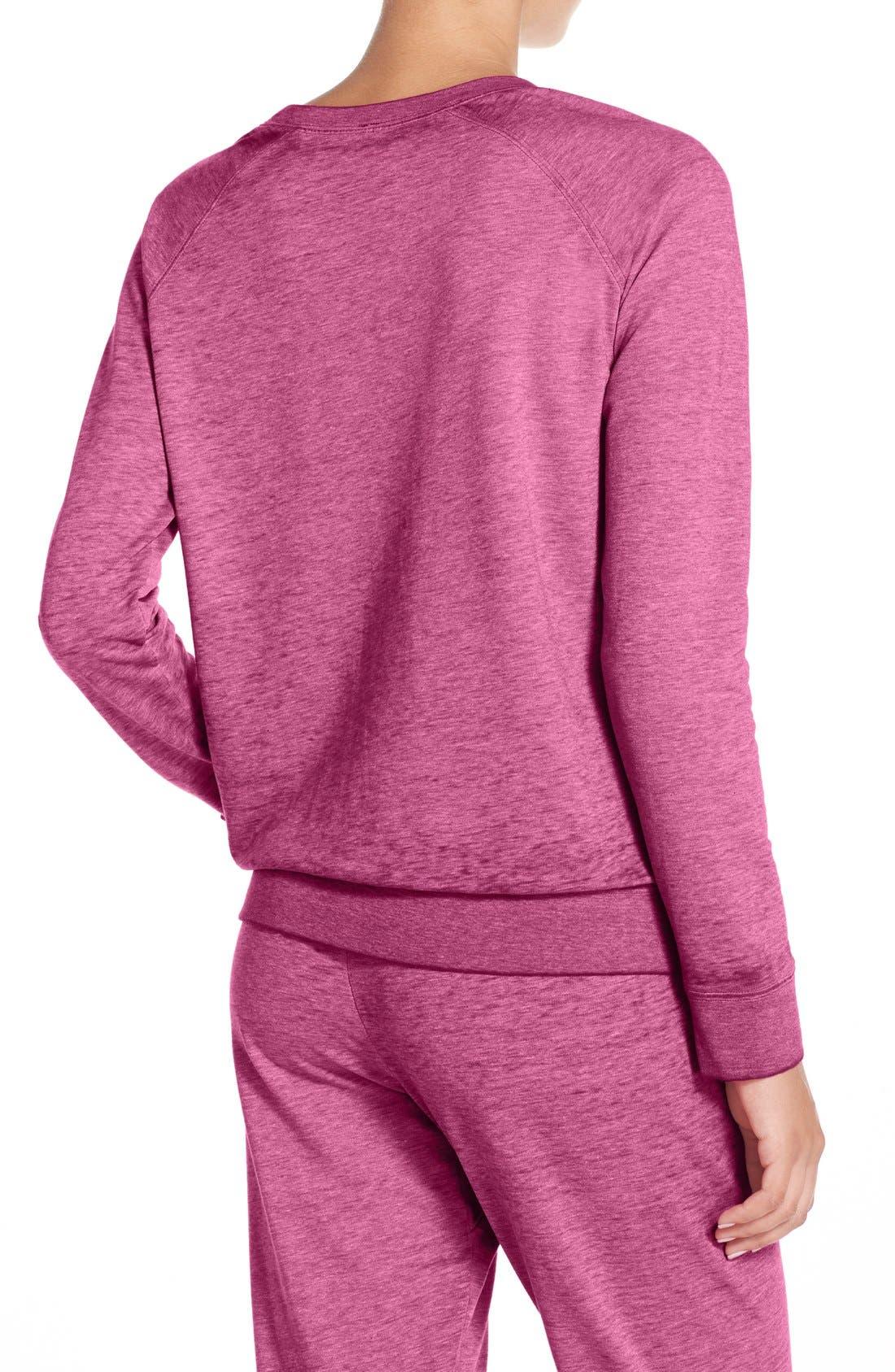 Burnout Lounge Sweatshirt,                             Alternate thumbnail 130, color,
