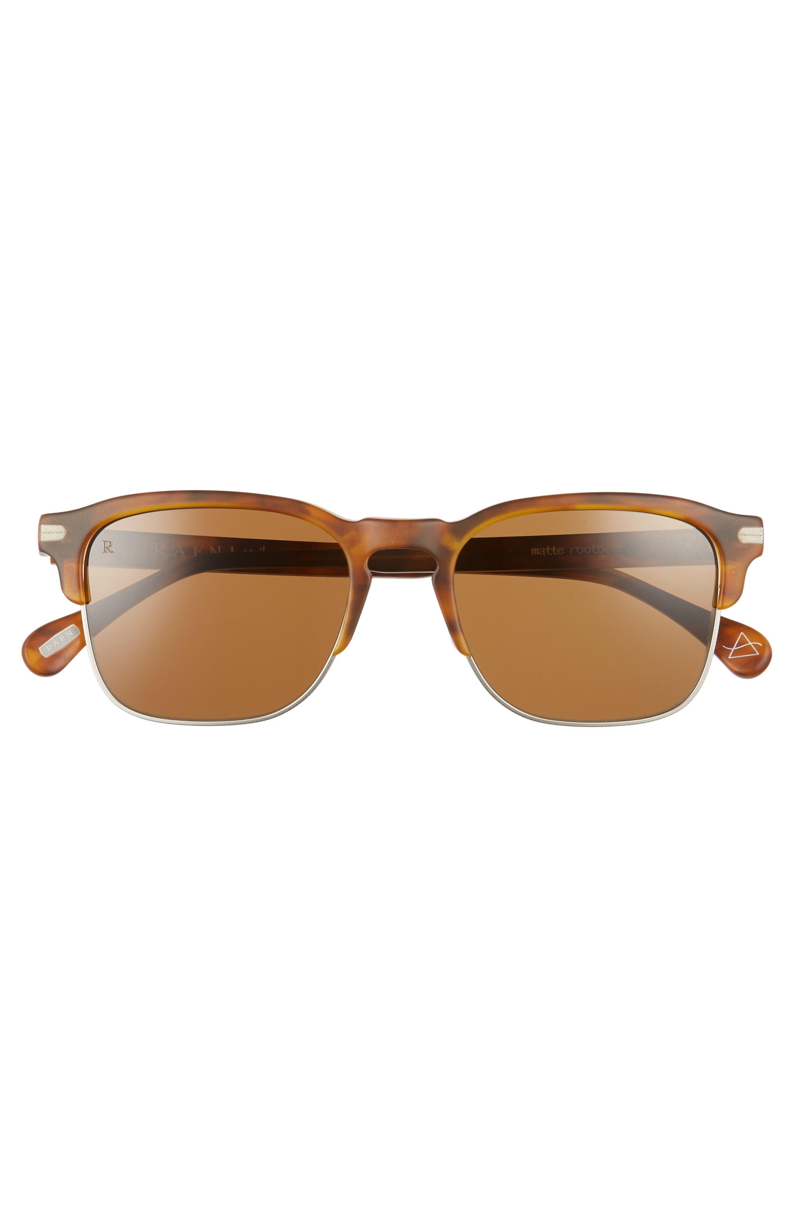 Wiley A 53mm Sunglasses,                             Alternate thumbnail 2, color,                             AMERICANO
