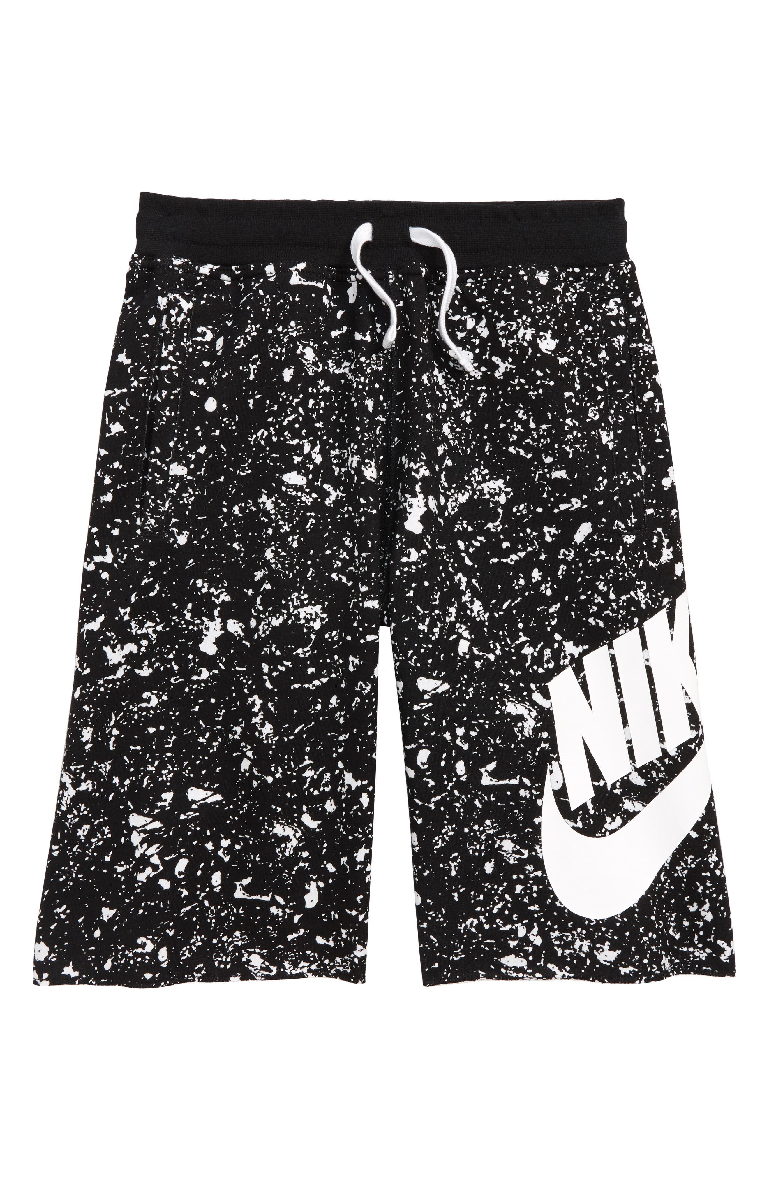 Sportswear Alumni Shorts,                             Main thumbnail 1, color,                             010