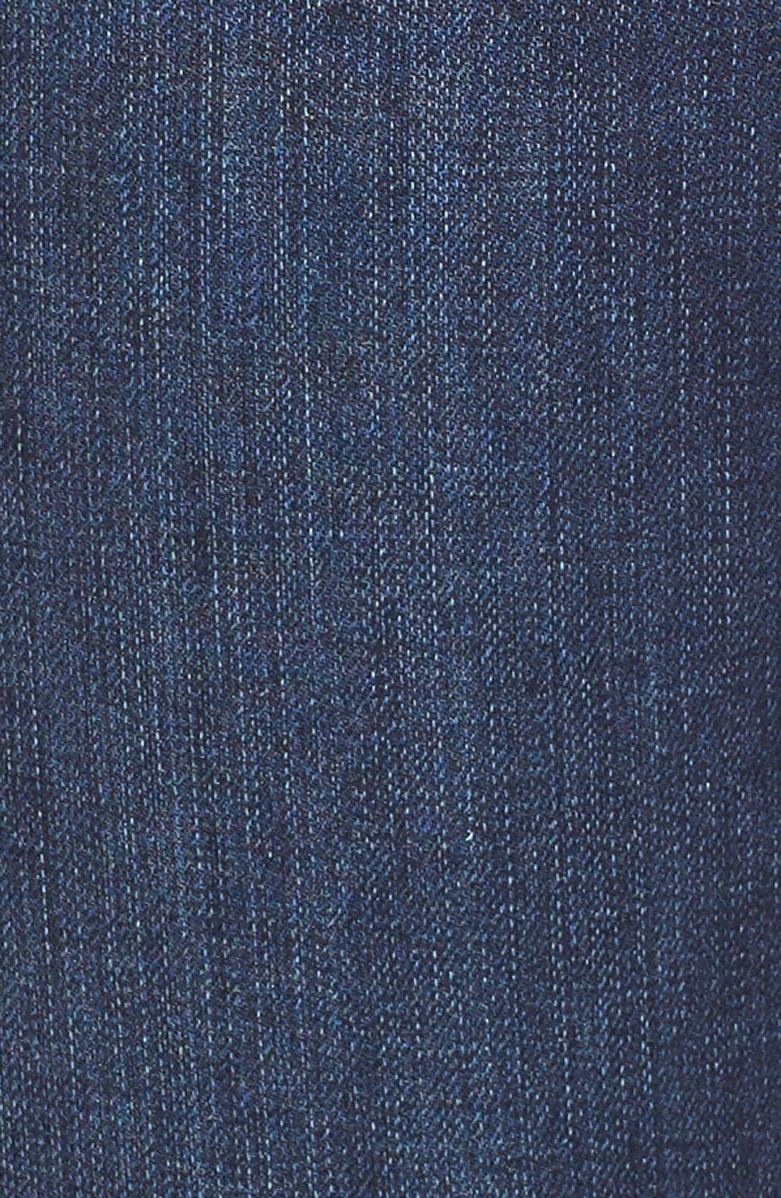 Splattered Pencil Leg Jeans,                             Alternate thumbnail 6, color,                             410