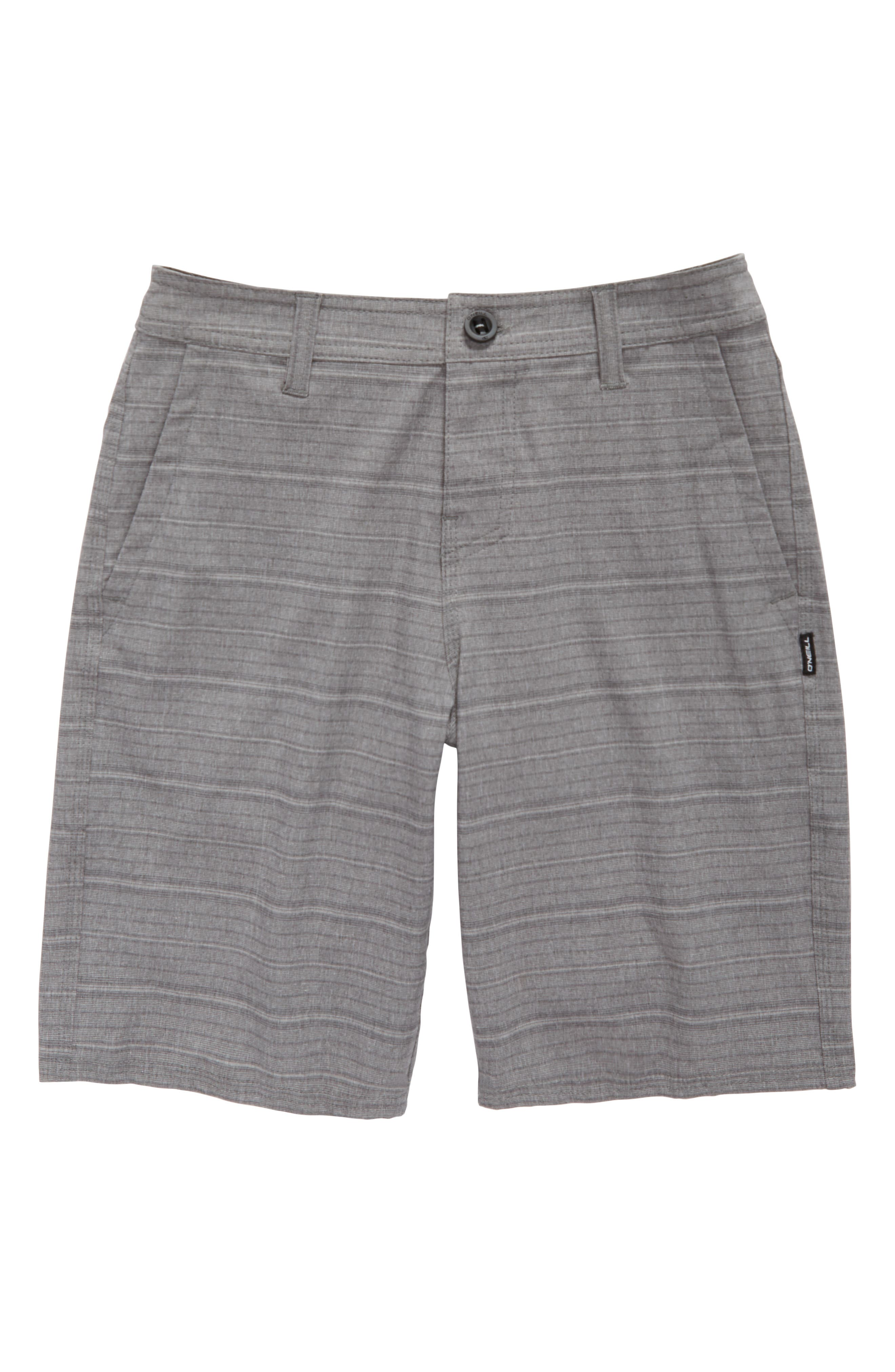 Locked Stripe Hybrid Shorts,                             Main thumbnail 1, color,                             020