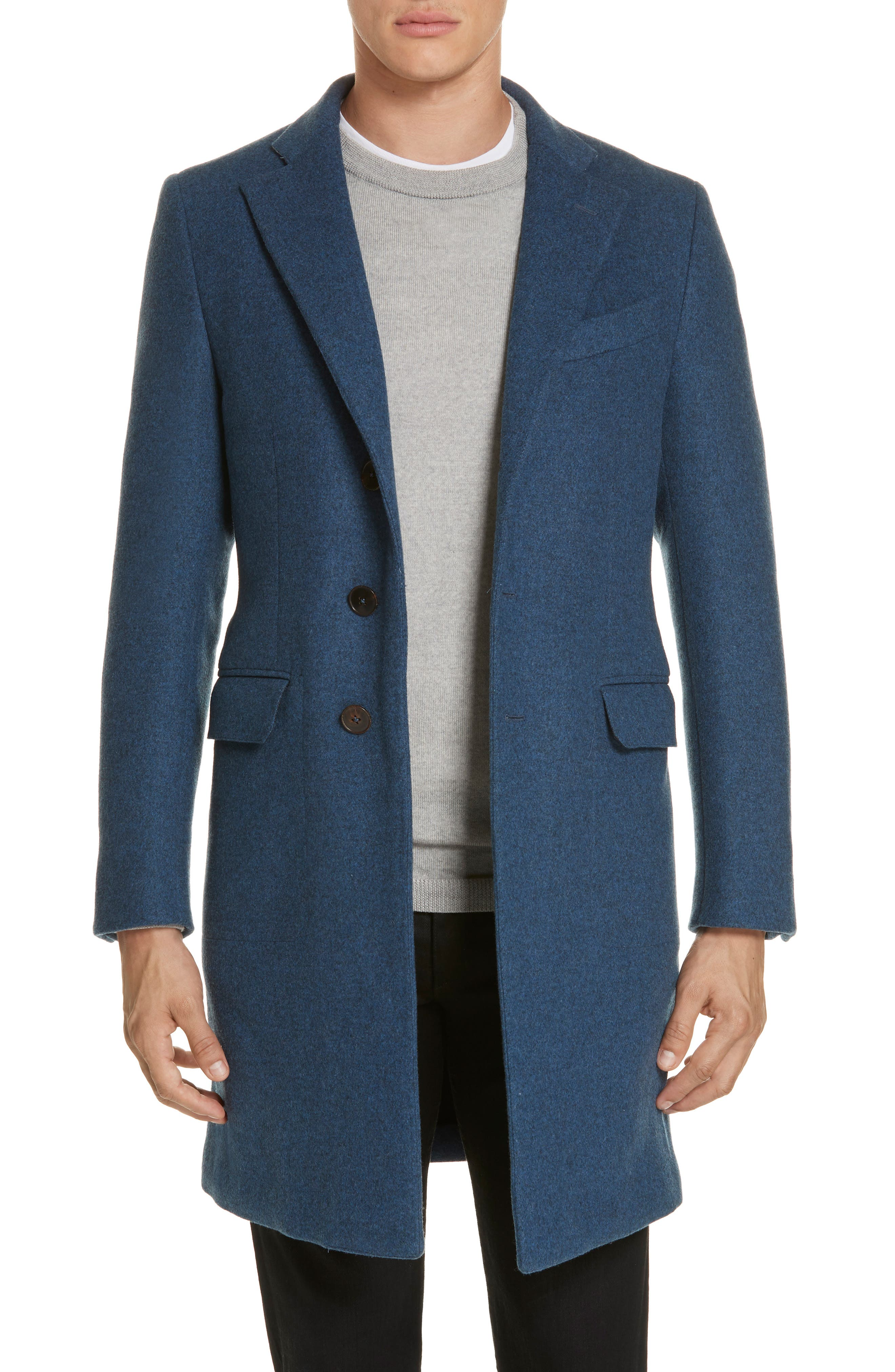 Wool & Cashmere Car Coat,                         Main,                         color, 423