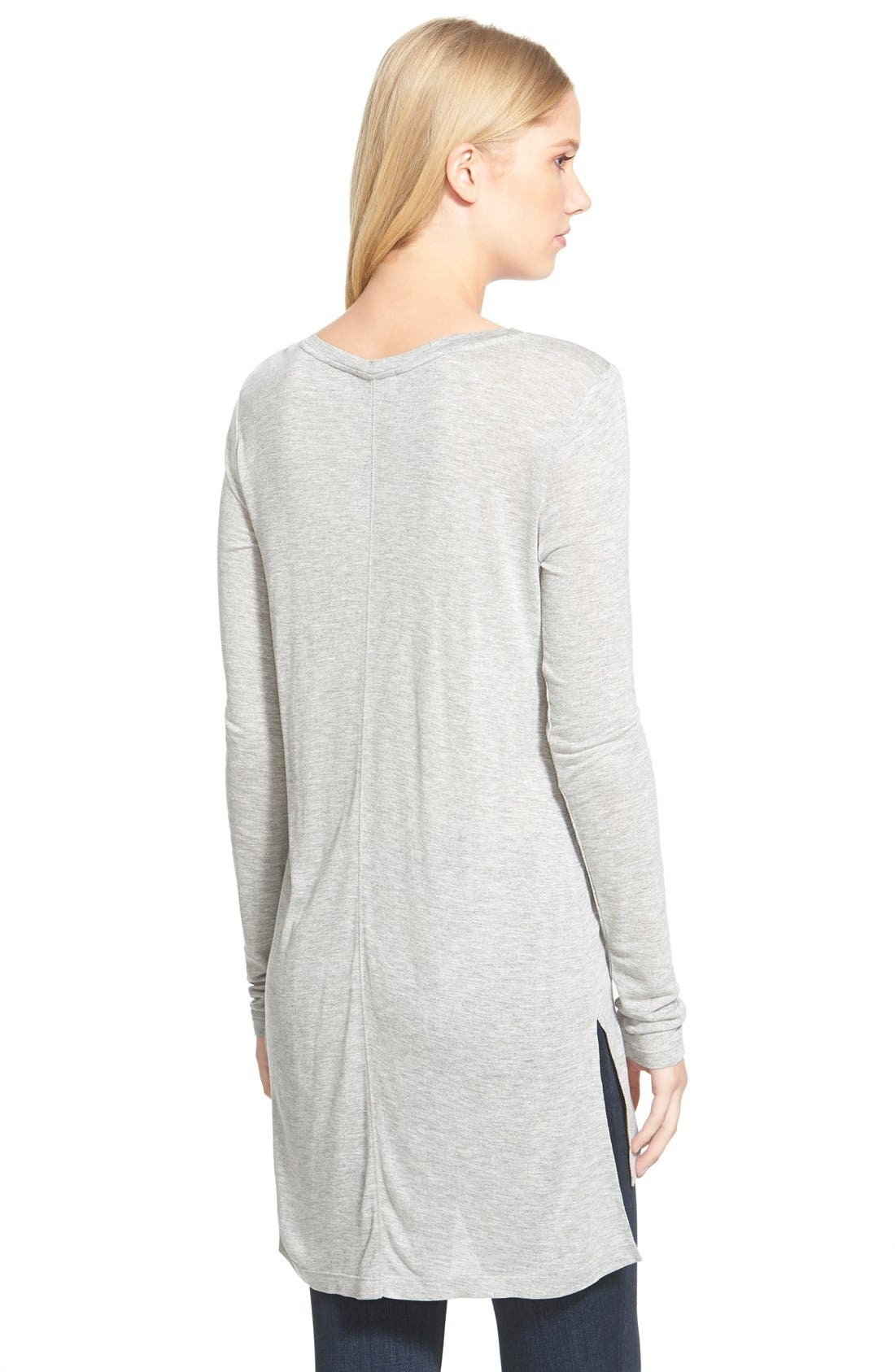 Long Sleeve Lightweight Tunic,                             Alternate thumbnail 25, color,