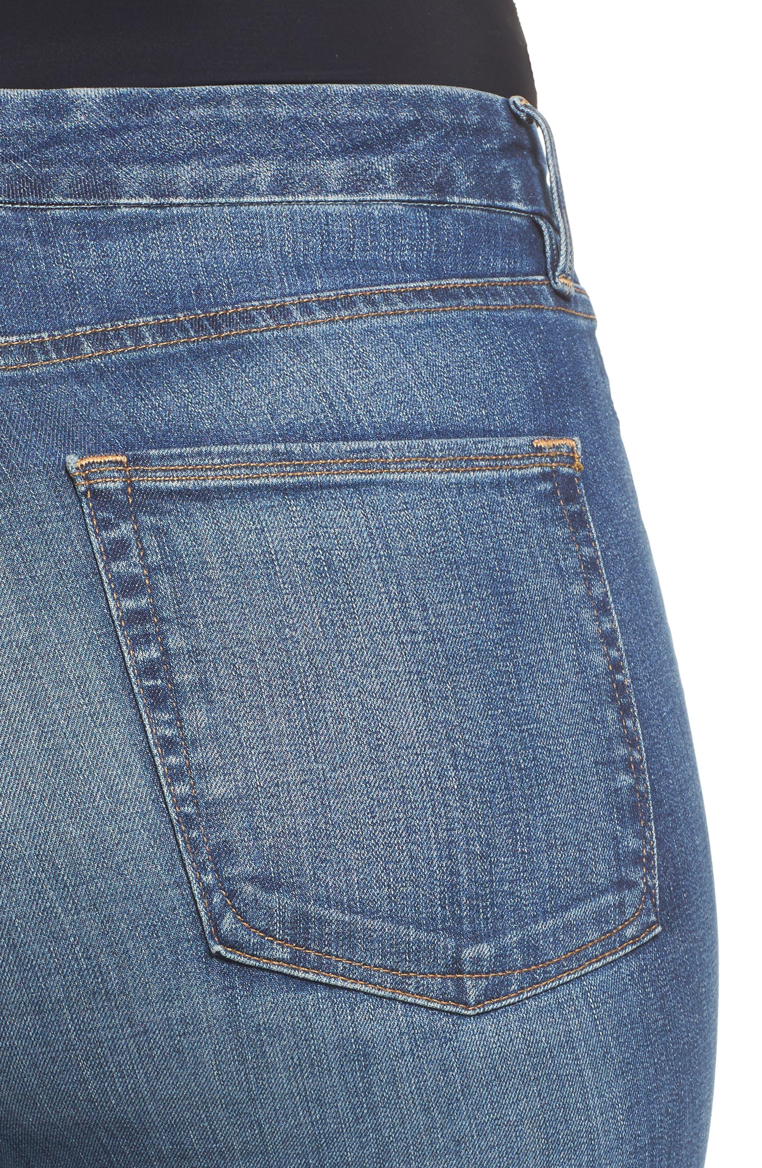 Good Waist High Waist Skinny Jeans,                             Alternate thumbnail 10, color,