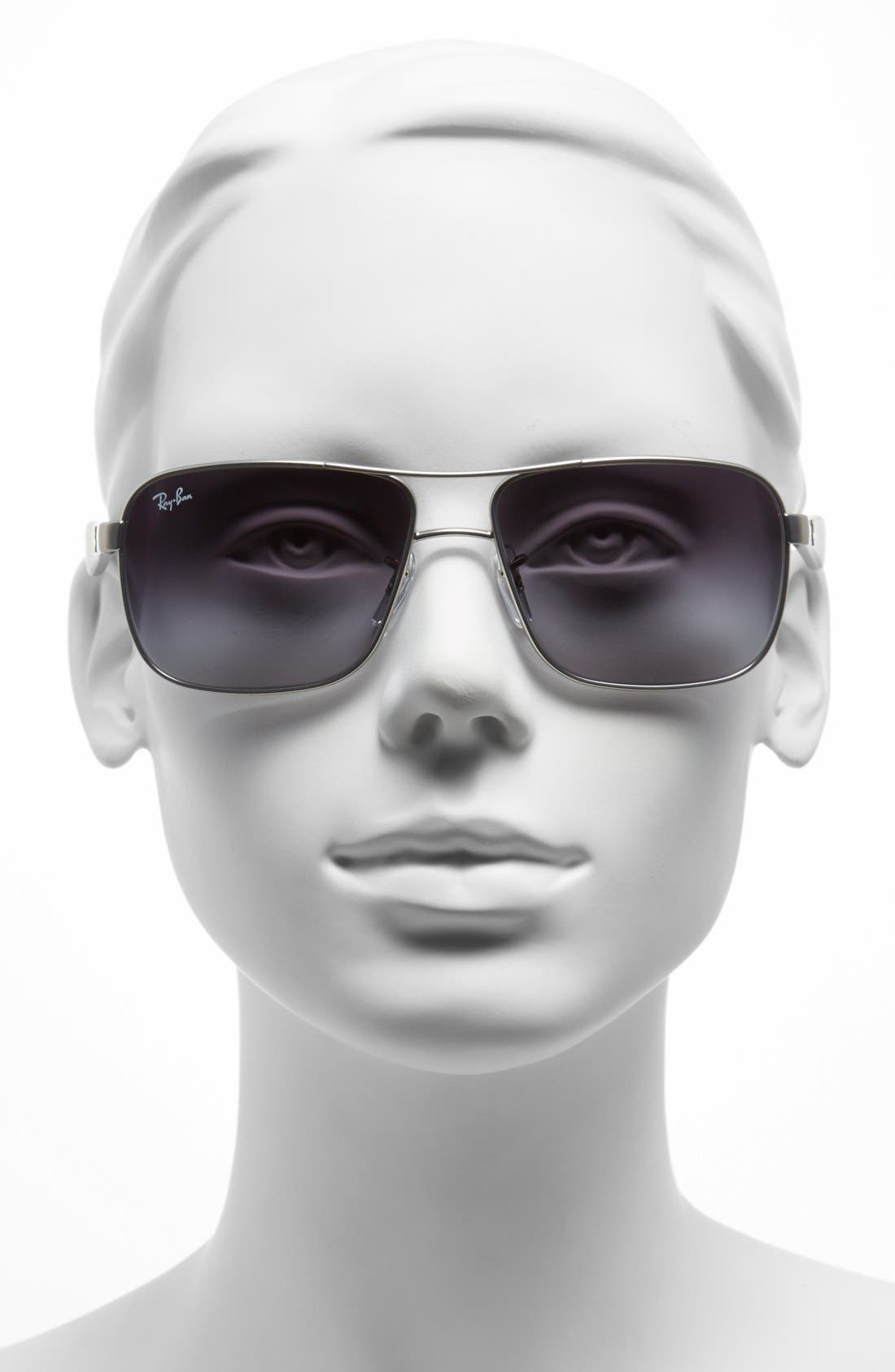59mm Pilot Sunglasses,                             Alternate thumbnail 2, color,                             040