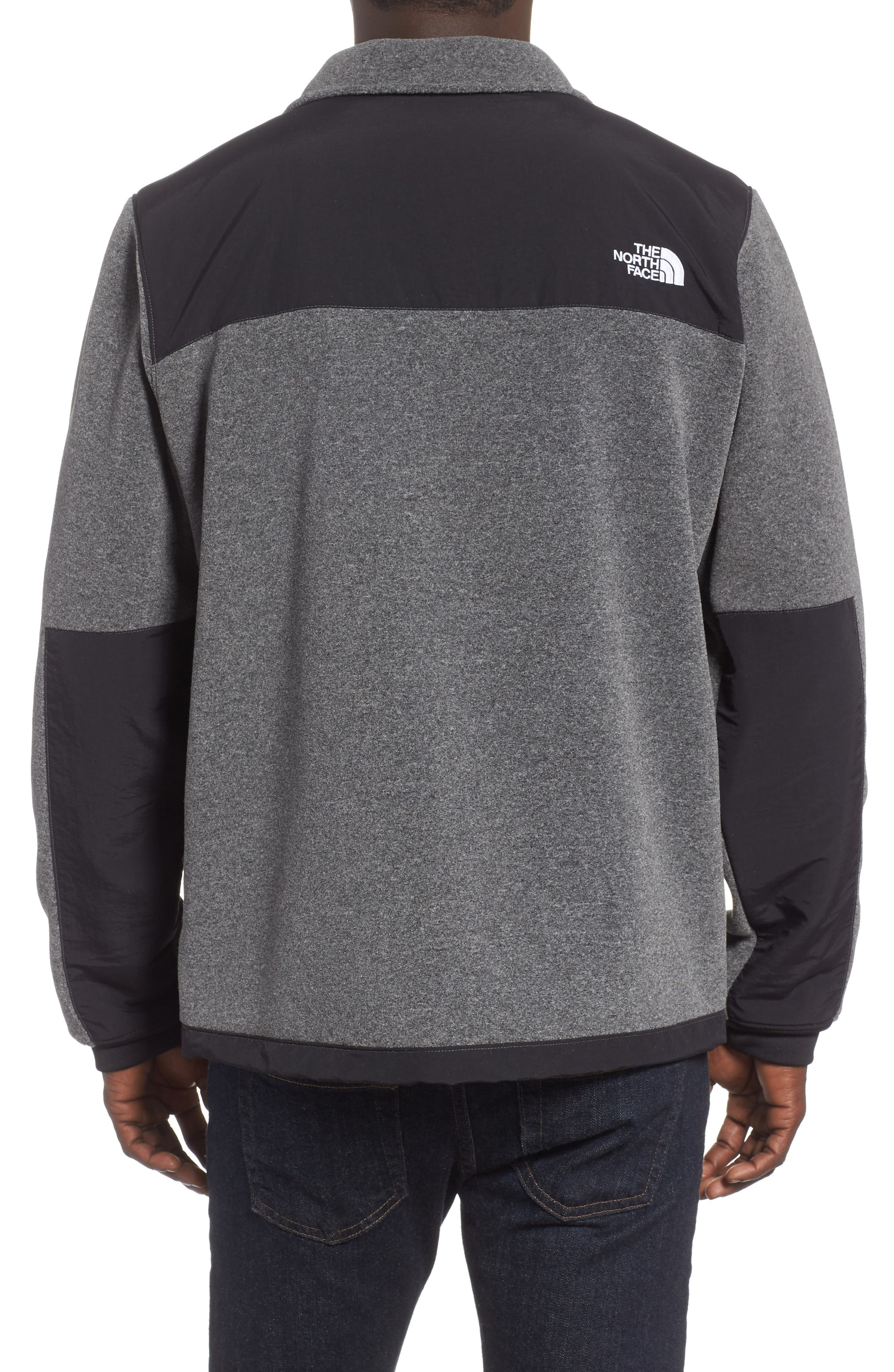 THE NORTH FACE,                             Denali 2 Jacket,                             Alternate thumbnail 2, color,                             RECYCLED CHARCOAL GREY HEATHER