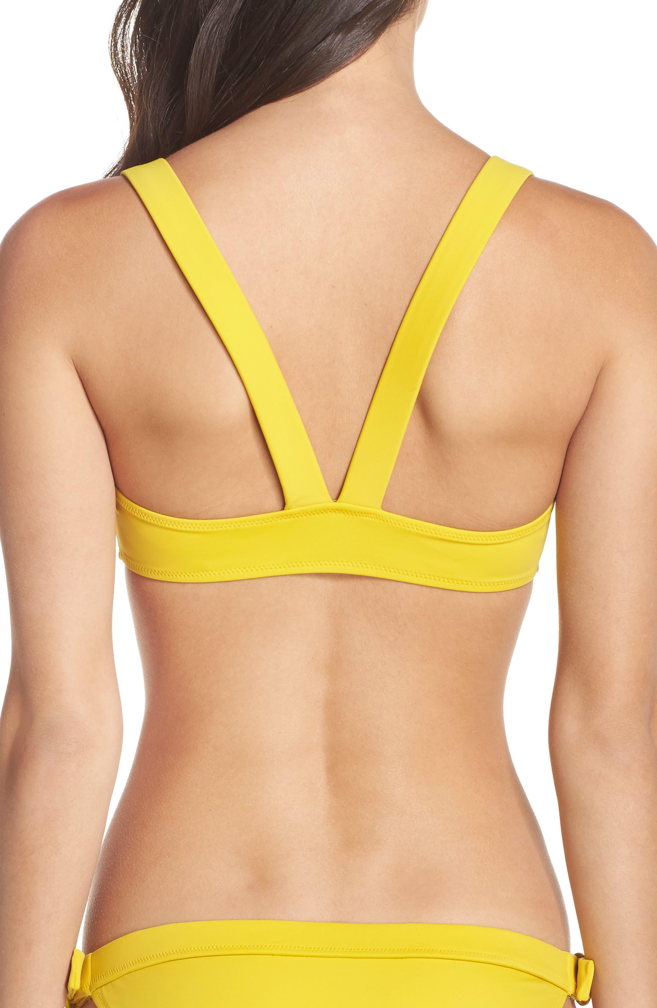 The Evelyn Bikini Top,                             Alternate thumbnail 2, color,