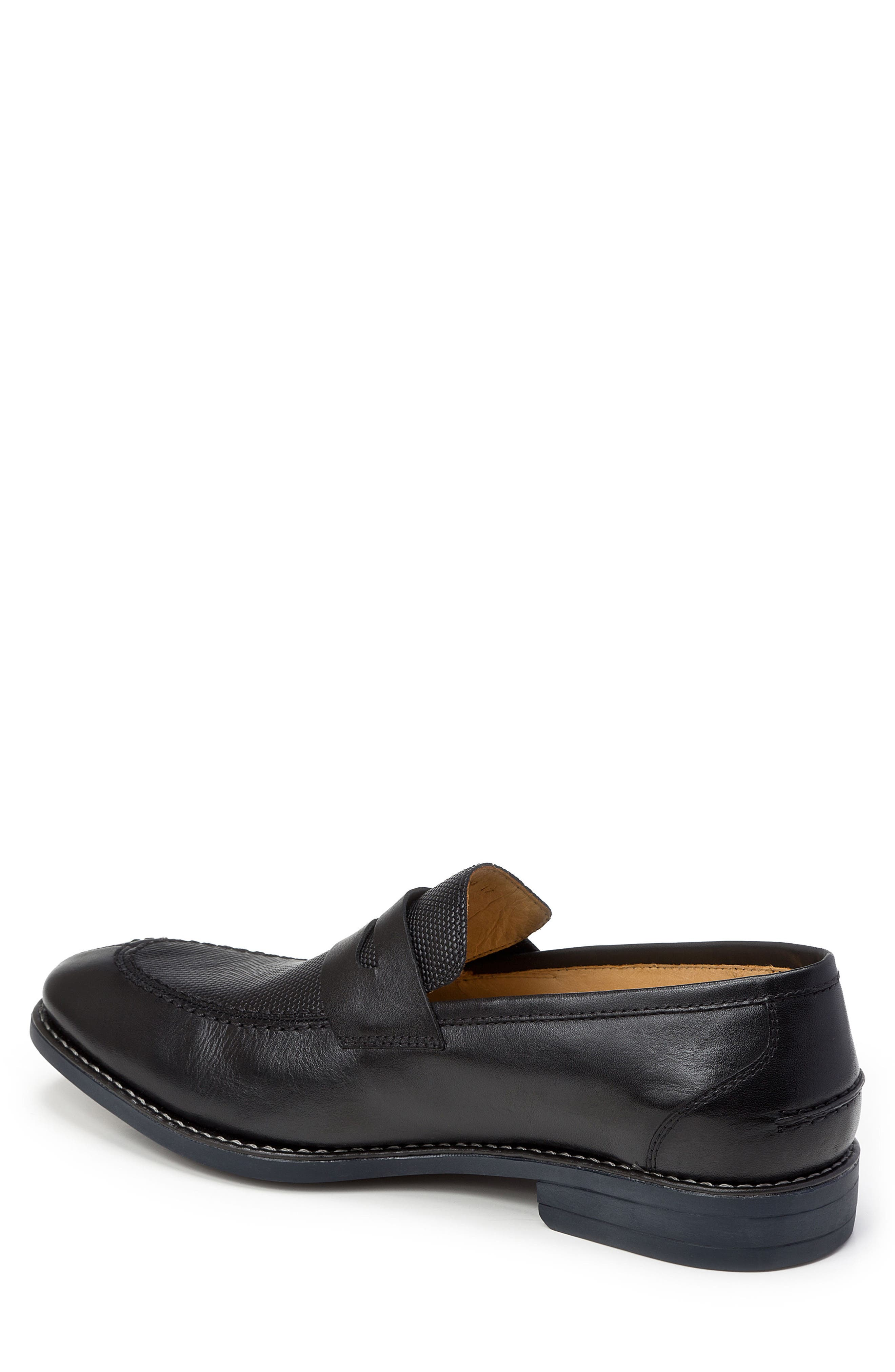 Maestro Penny Loafer,                             Alternate thumbnail 2, color,                             BLACK LEATHER