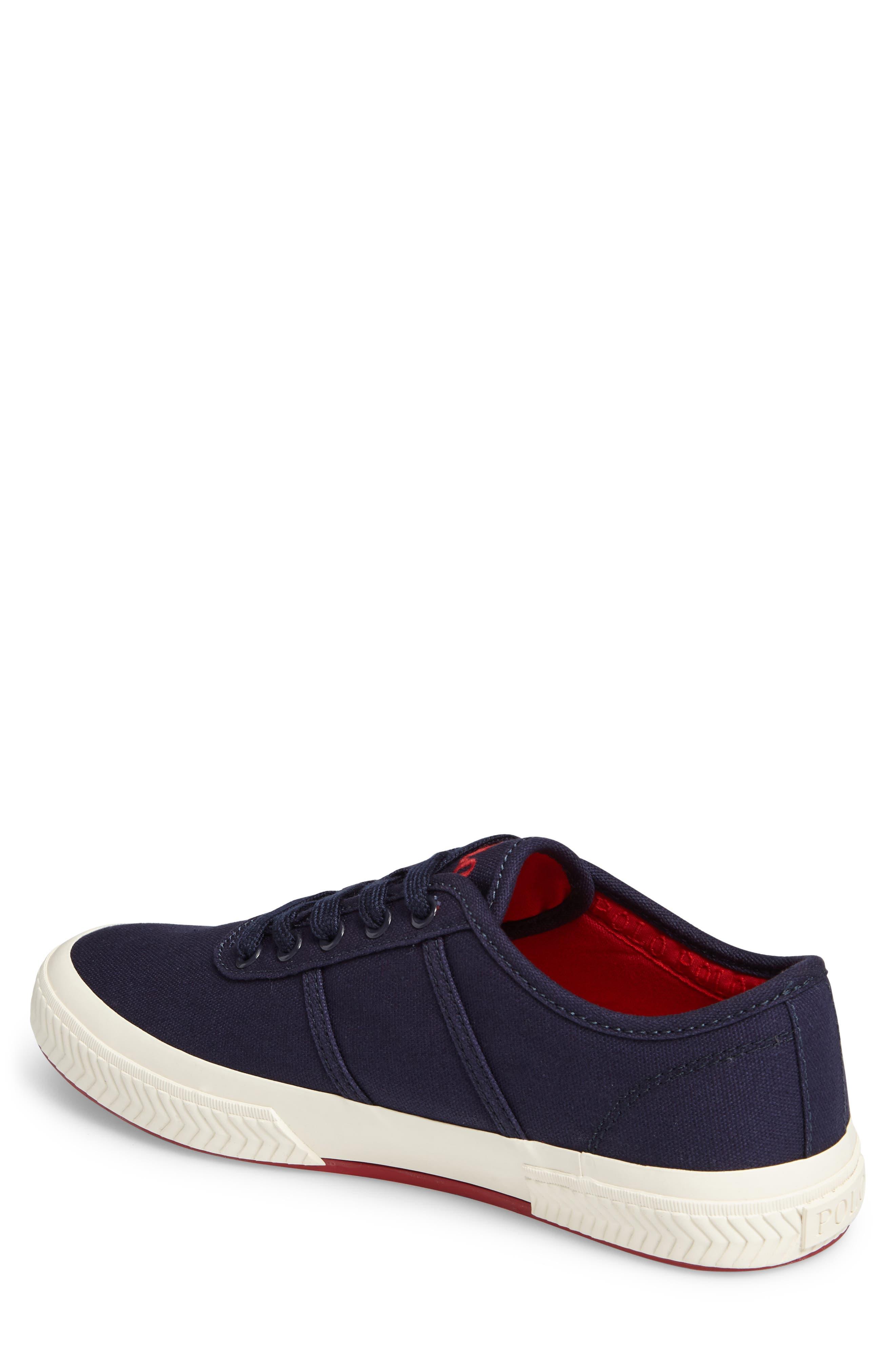 Polo Ralph Lauren Tyrian Sneaker,                             Alternate thumbnail 2, color,                             410