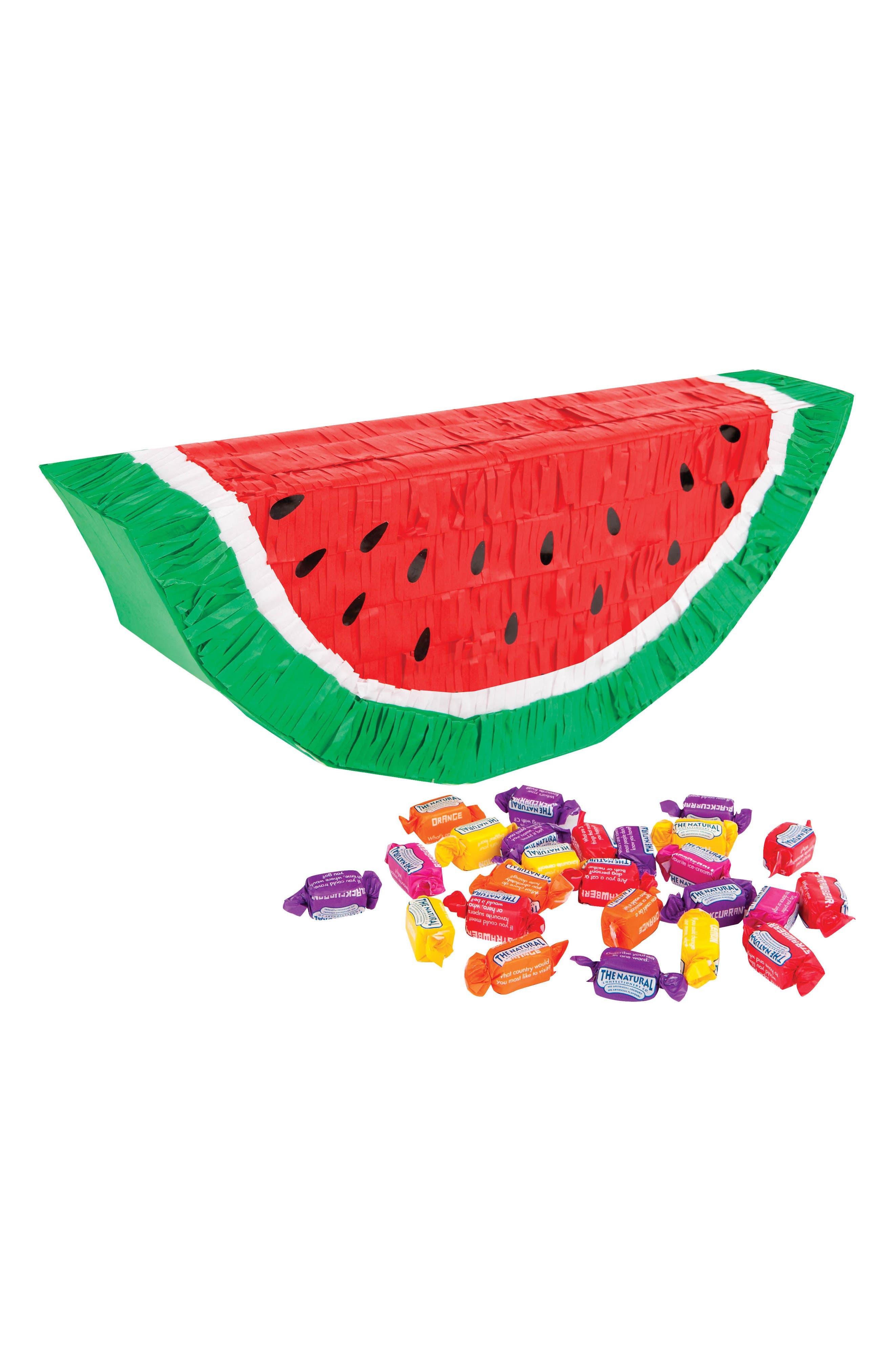 SUNNYLIFE Watermelon Piñata, Main, color, 650