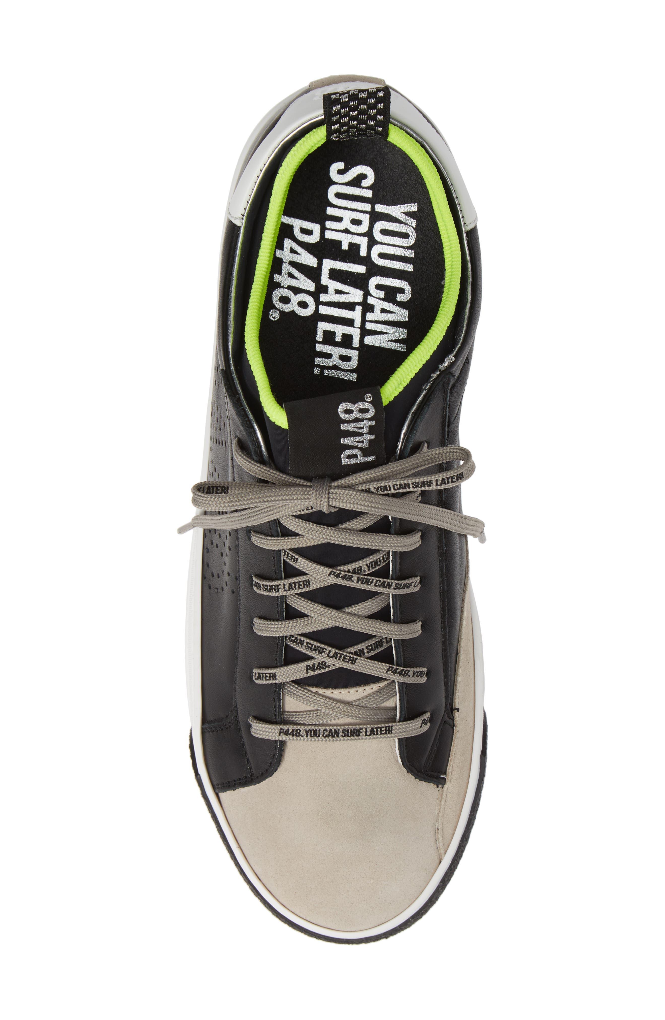 A8miamijsocks Sneaker,                             Alternate thumbnail 5, color,                             BLACK