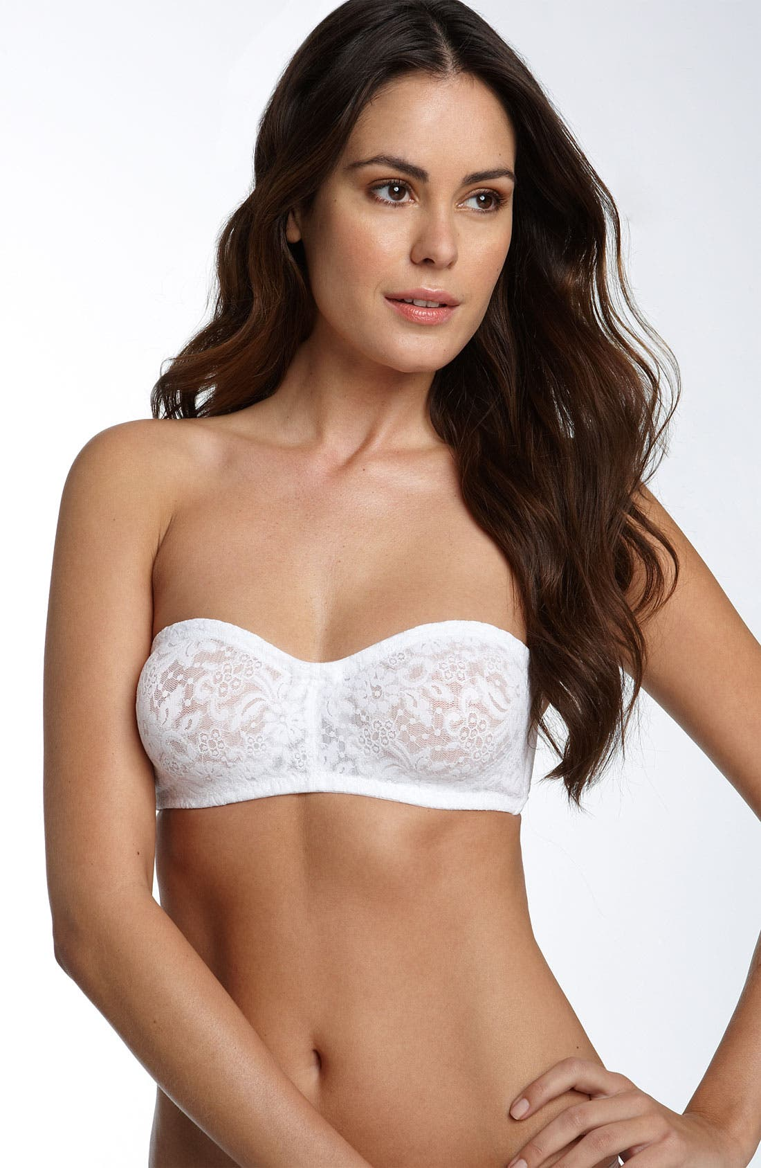 'Halo 65449' Strapless Convertible Underwire Bra,                             Main thumbnail 1, color,                             100