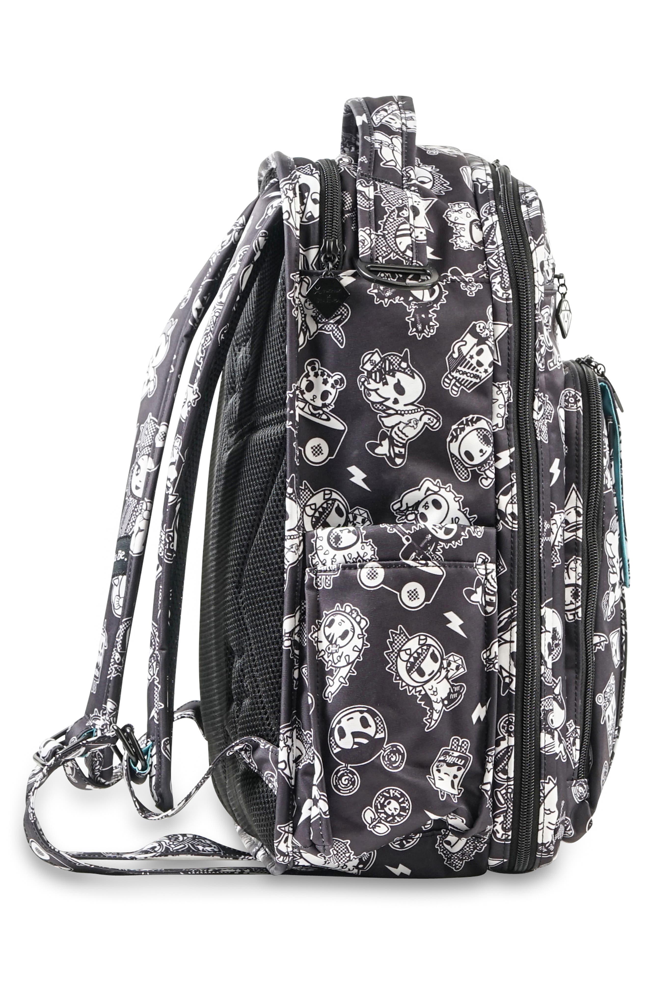 tokidoki x Ju-Ju-Be 'Be Right Back' Diaper Backpack,                             Alternate thumbnail 3, color,                             009