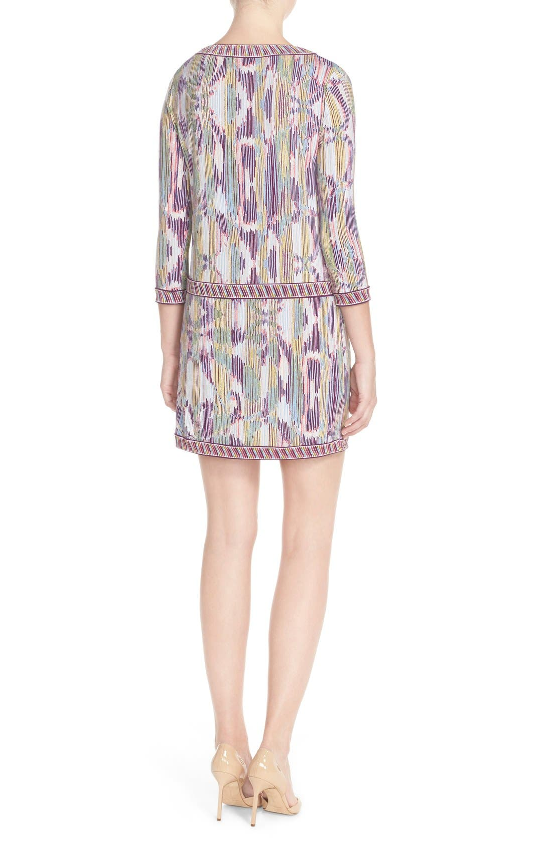 'Tawnya' Print Jersey Dress,                             Alternate thumbnail 4, color,                             590