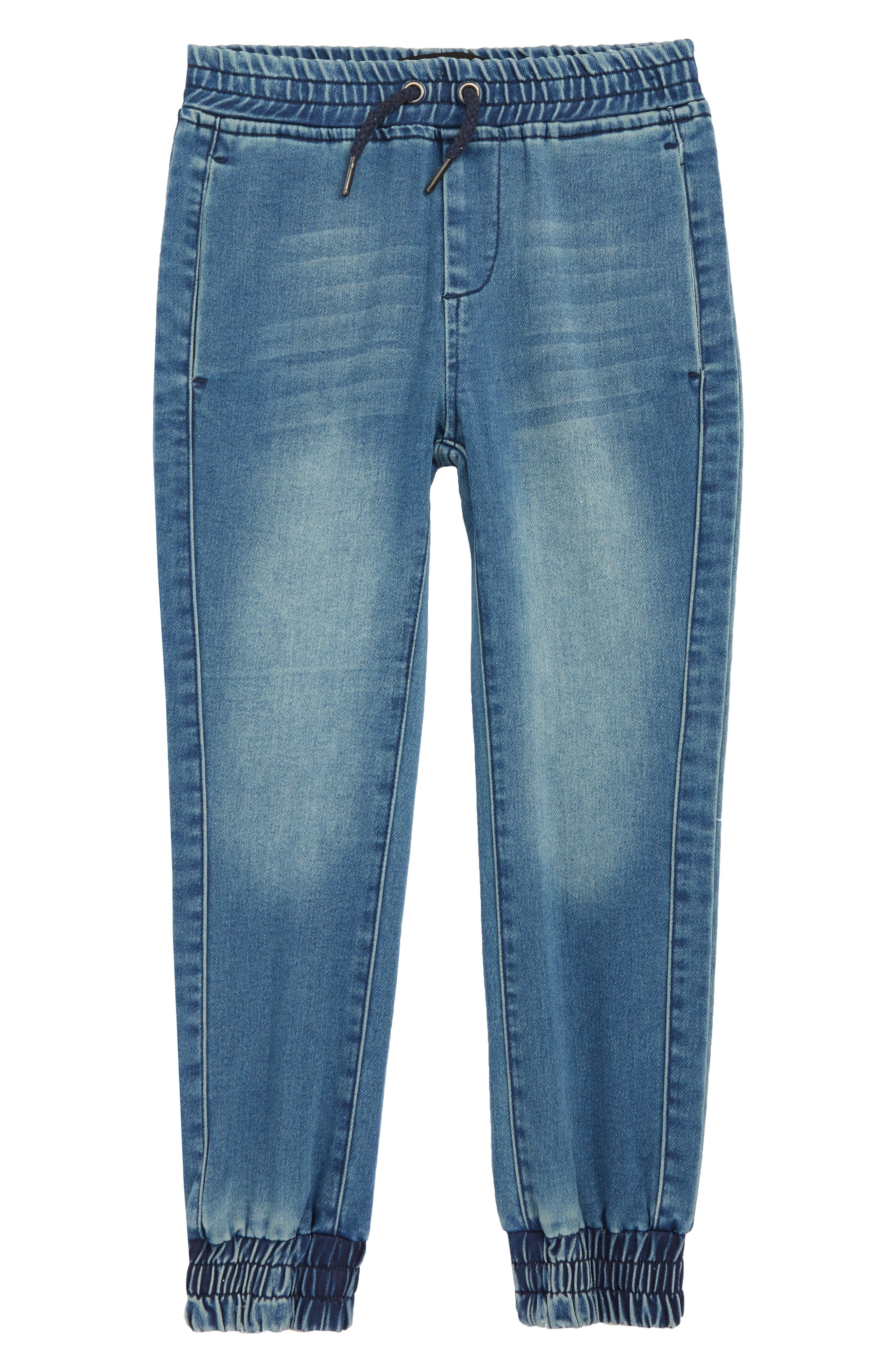 The Jogger Slim Fit Denim Pants,                         Main,                         color, SOLARIS