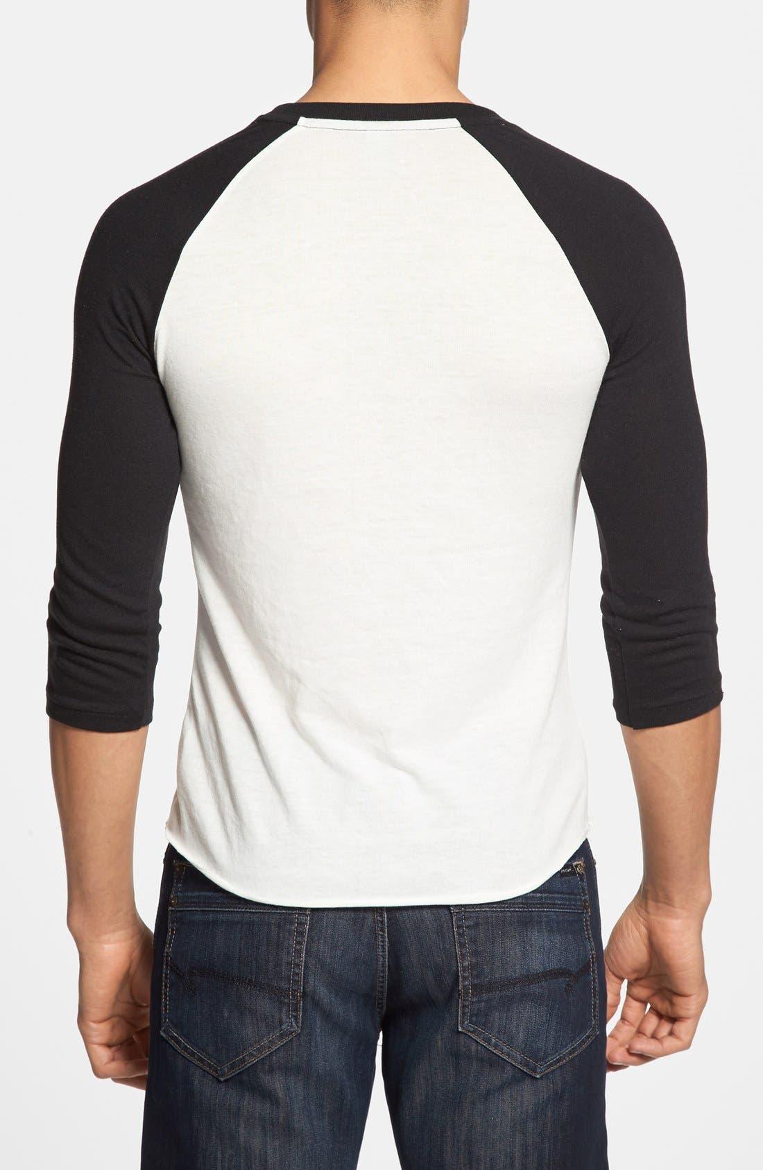 Colorblock Baseball T-Shirt,                             Alternate thumbnail 2, color,                             001