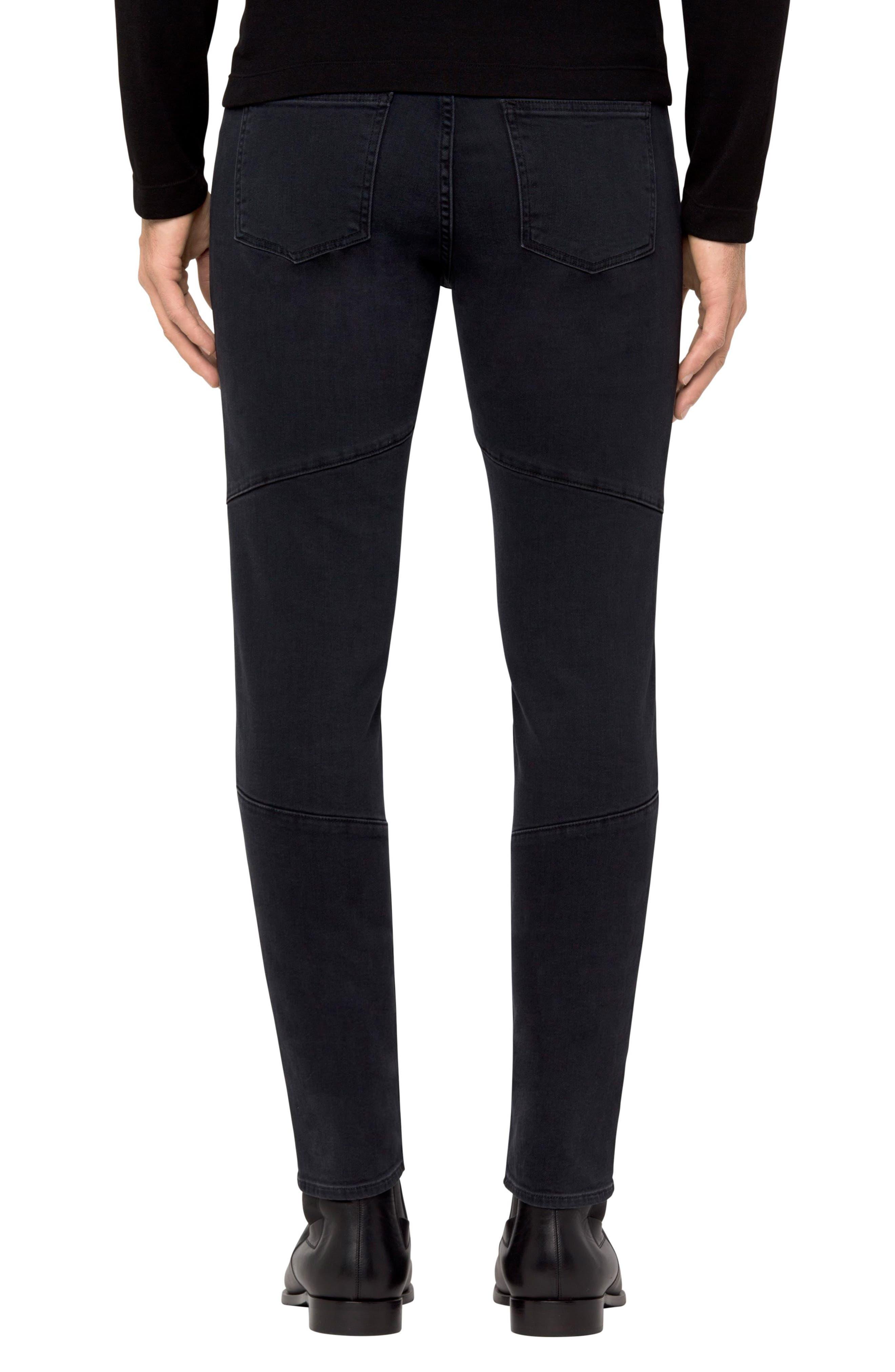Bearden Moto Skinny Fit Jeans,                             Alternate thumbnail 2, color,                             002