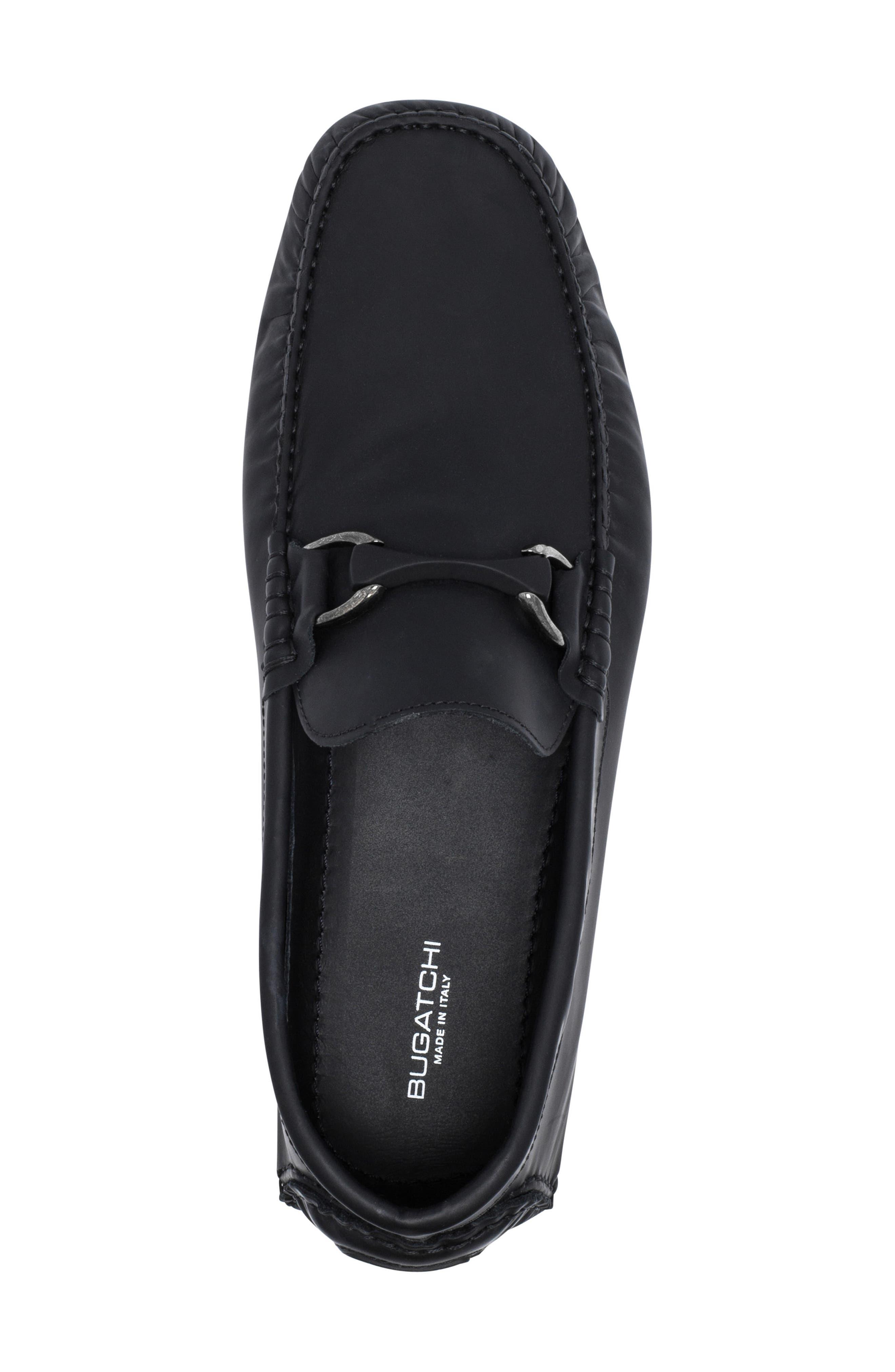 Sanremo Driving Shoe,                             Alternate thumbnail 5, color,                             NERO