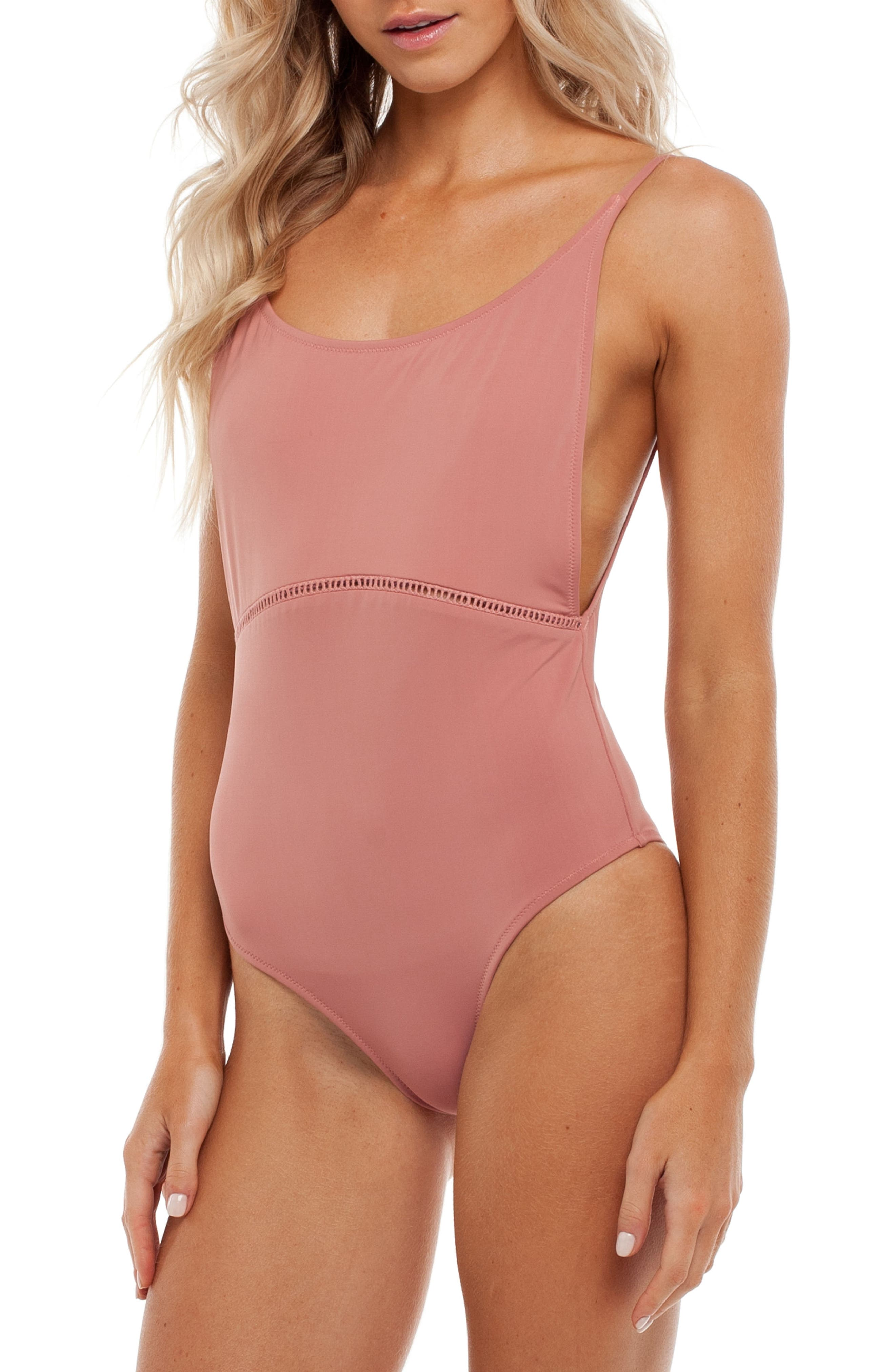 My Scoop One-Piece Swimsuit,                             Alternate thumbnail 3, color,                             660