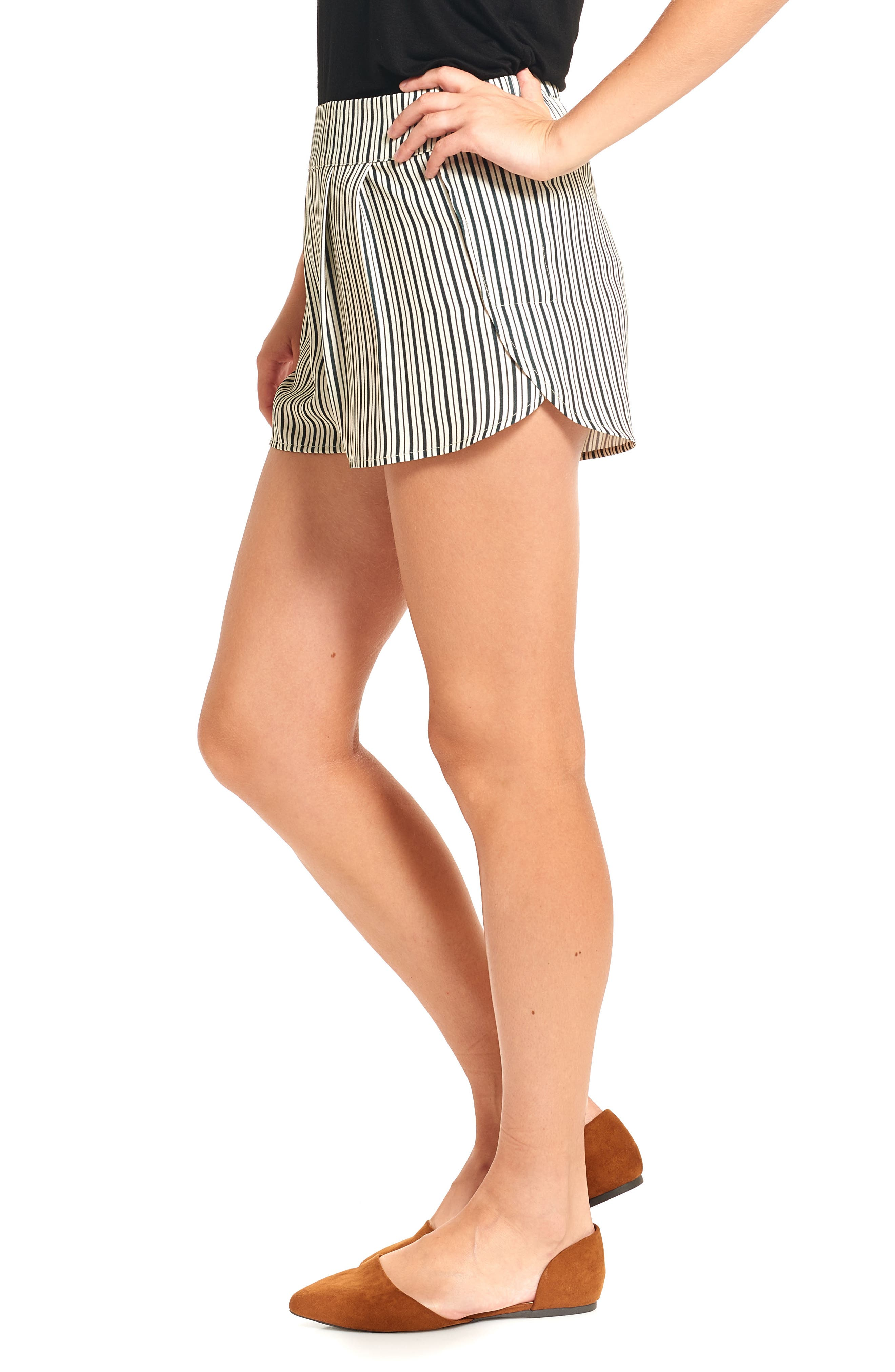 THIEVES LIKE US,                             Stripe Running Shorts,                             Alternate thumbnail 3, color,                             001