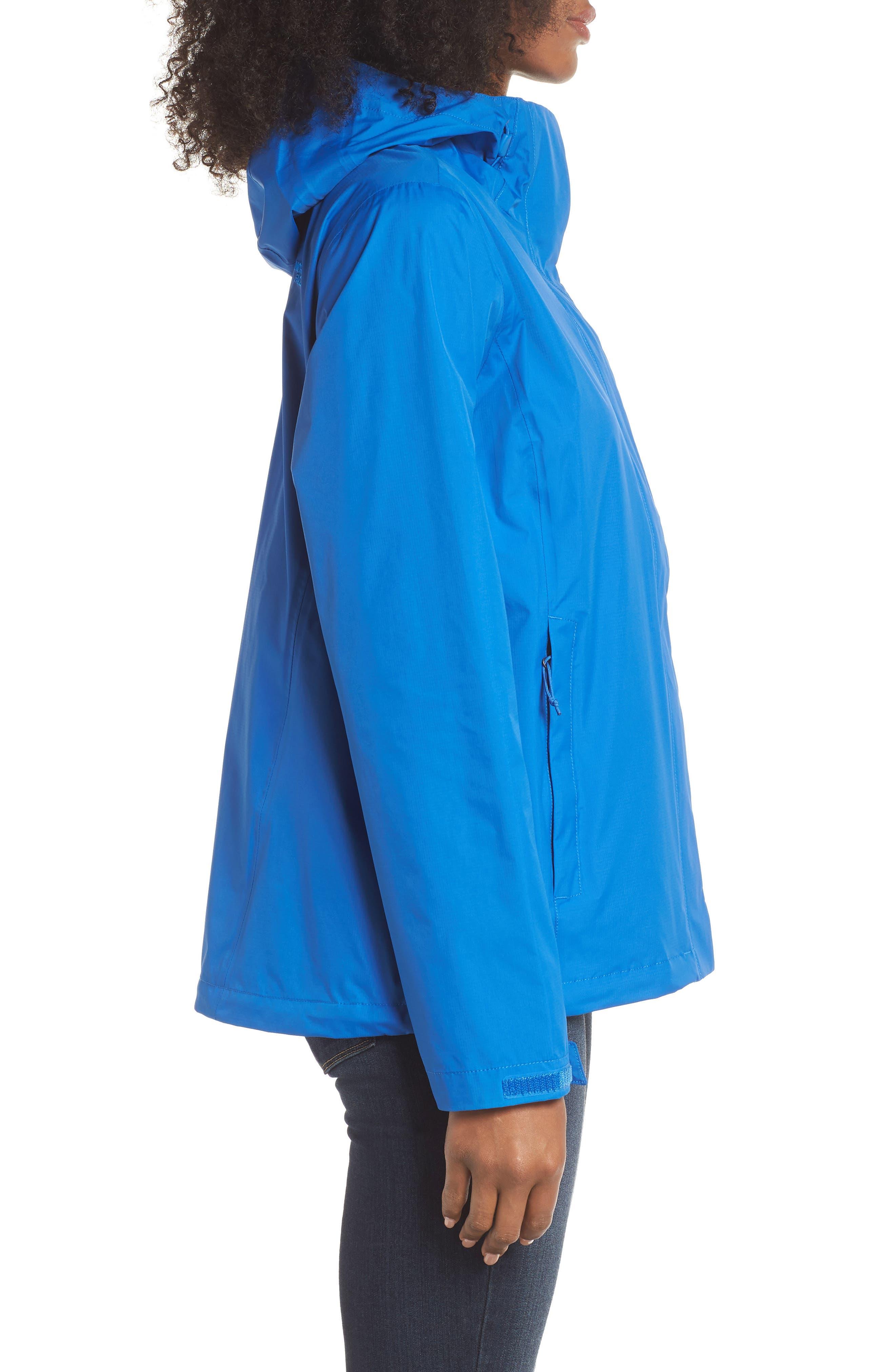 Venture 2 Waterproof Jacket,                             Alternate thumbnail 3, color,                             TURKISH SEA