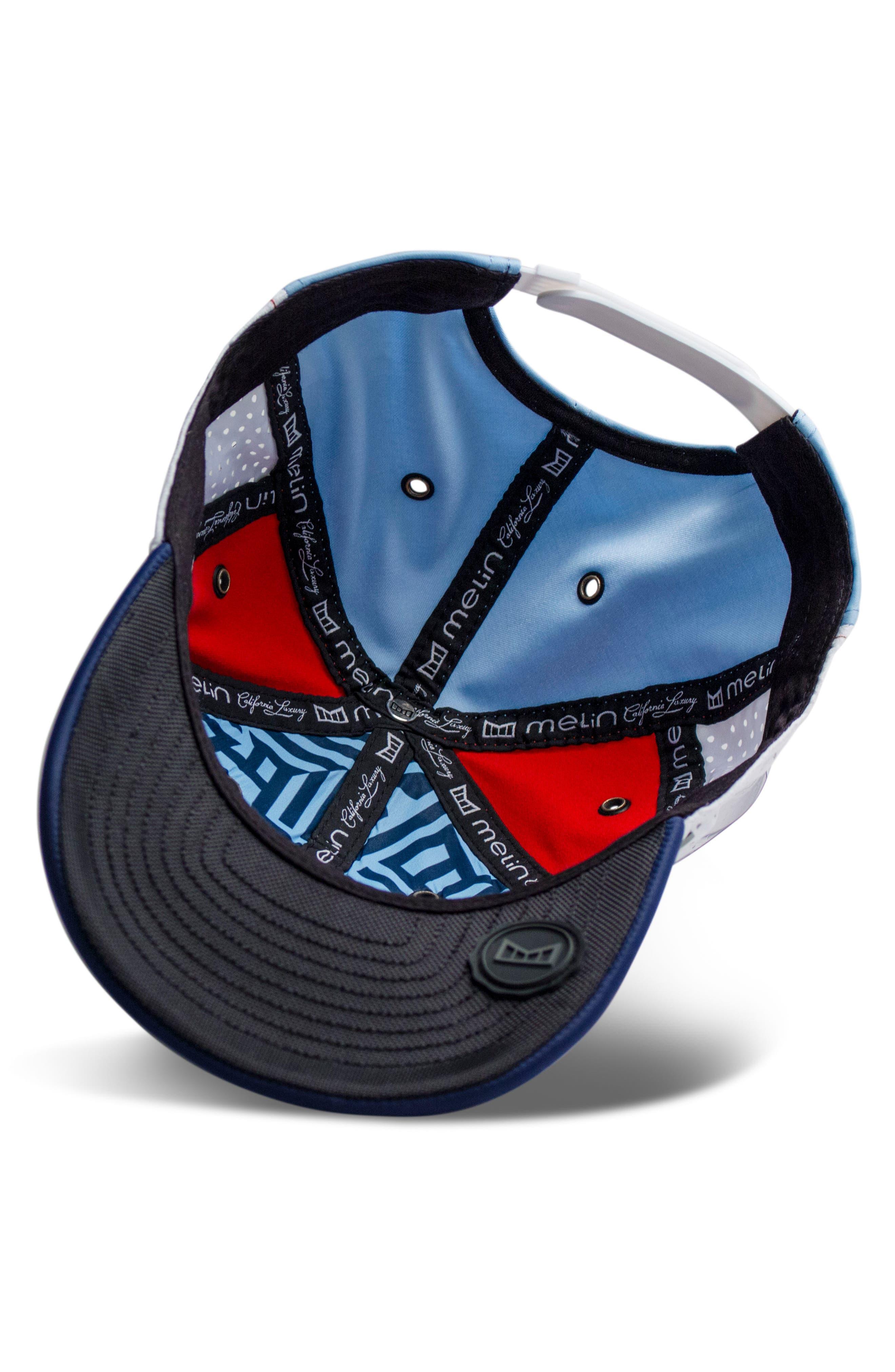 The Assault Snapback Baseball Cap,                             Alternate thumbnail 4, color,                             RED/ WHITE