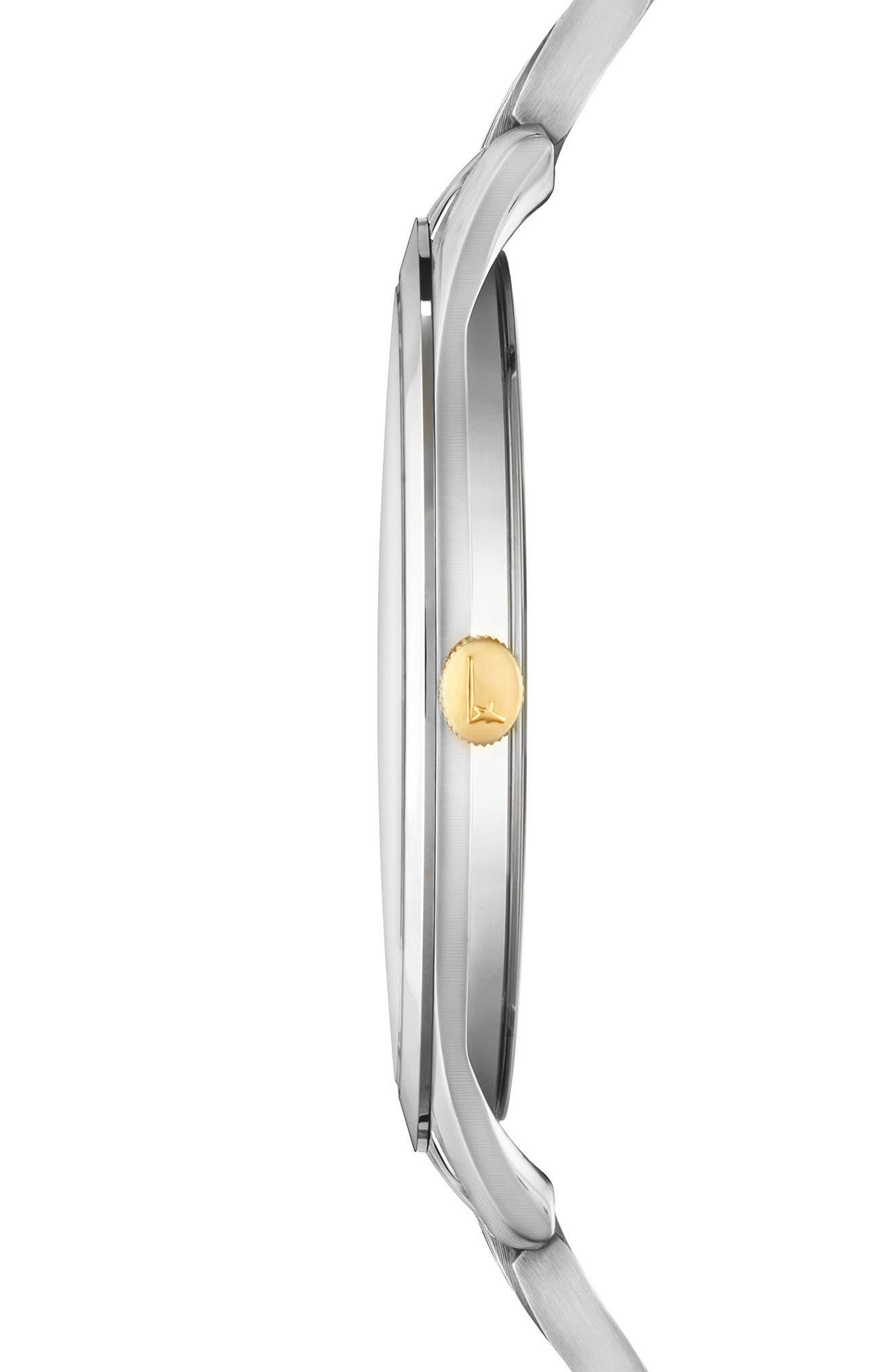 Slim Formal Bracelet Watch, 35mm,                             Alternate thumbnail 3, color,                             040