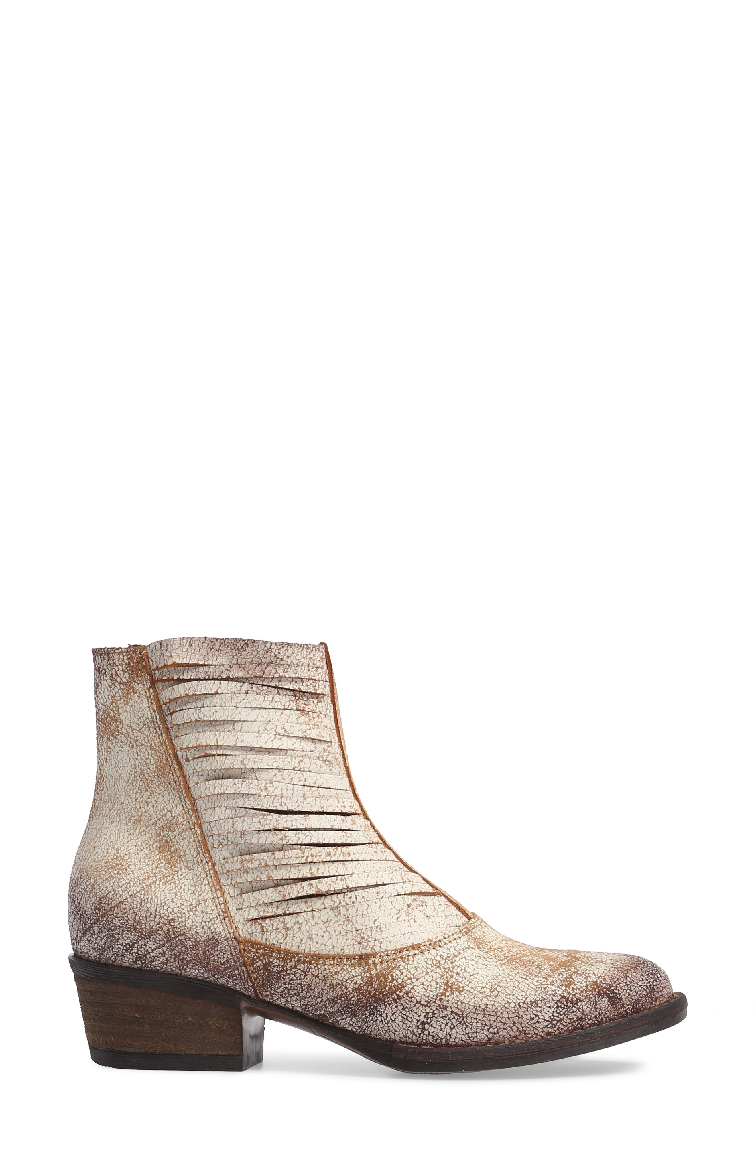 Jeronimo Western Bootie,                             Alternate thumbnail 3, color,                             100