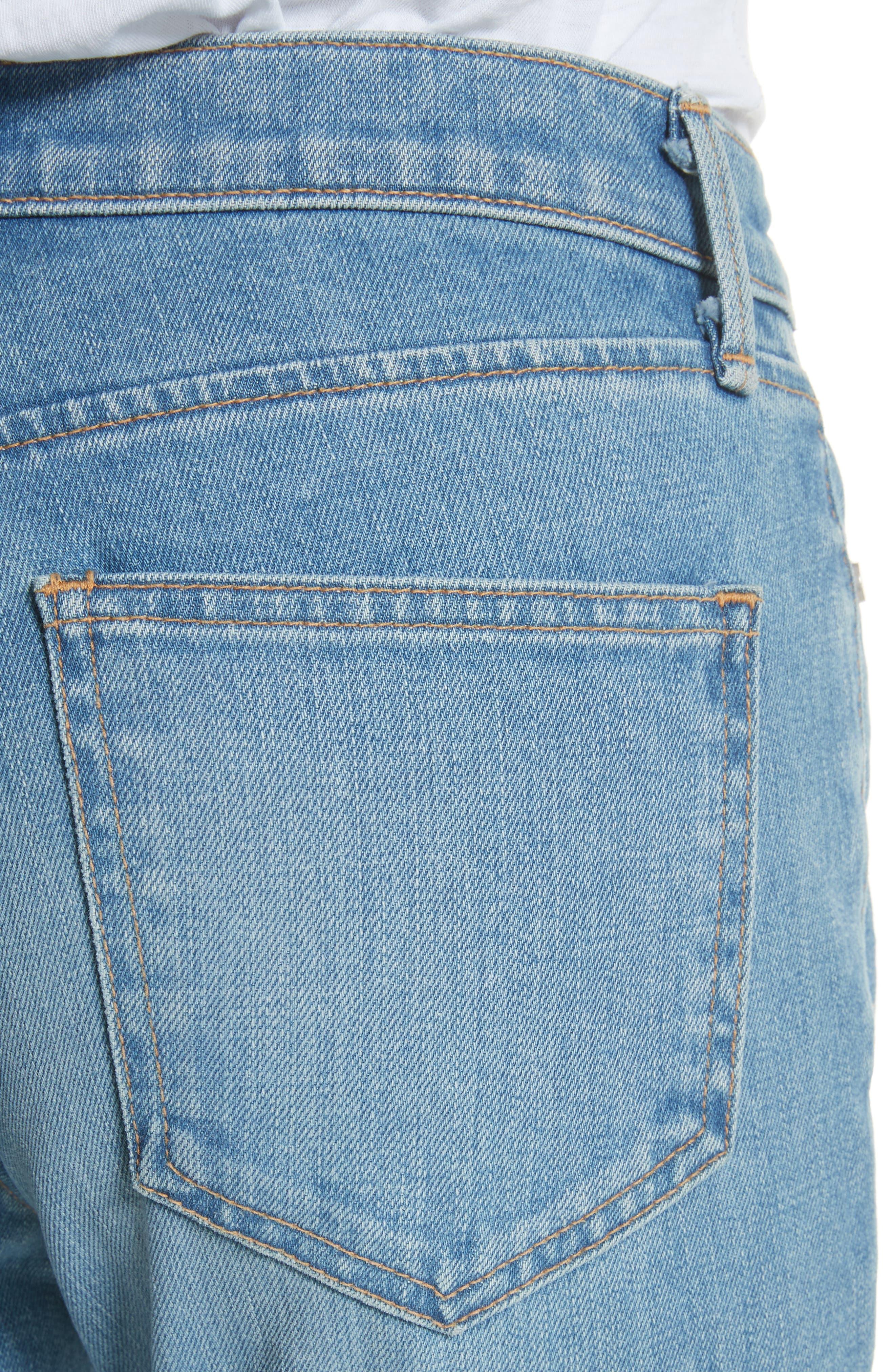 Ankle Cigarette Jeans,                             Alternate thumbnail 4, color,                             420