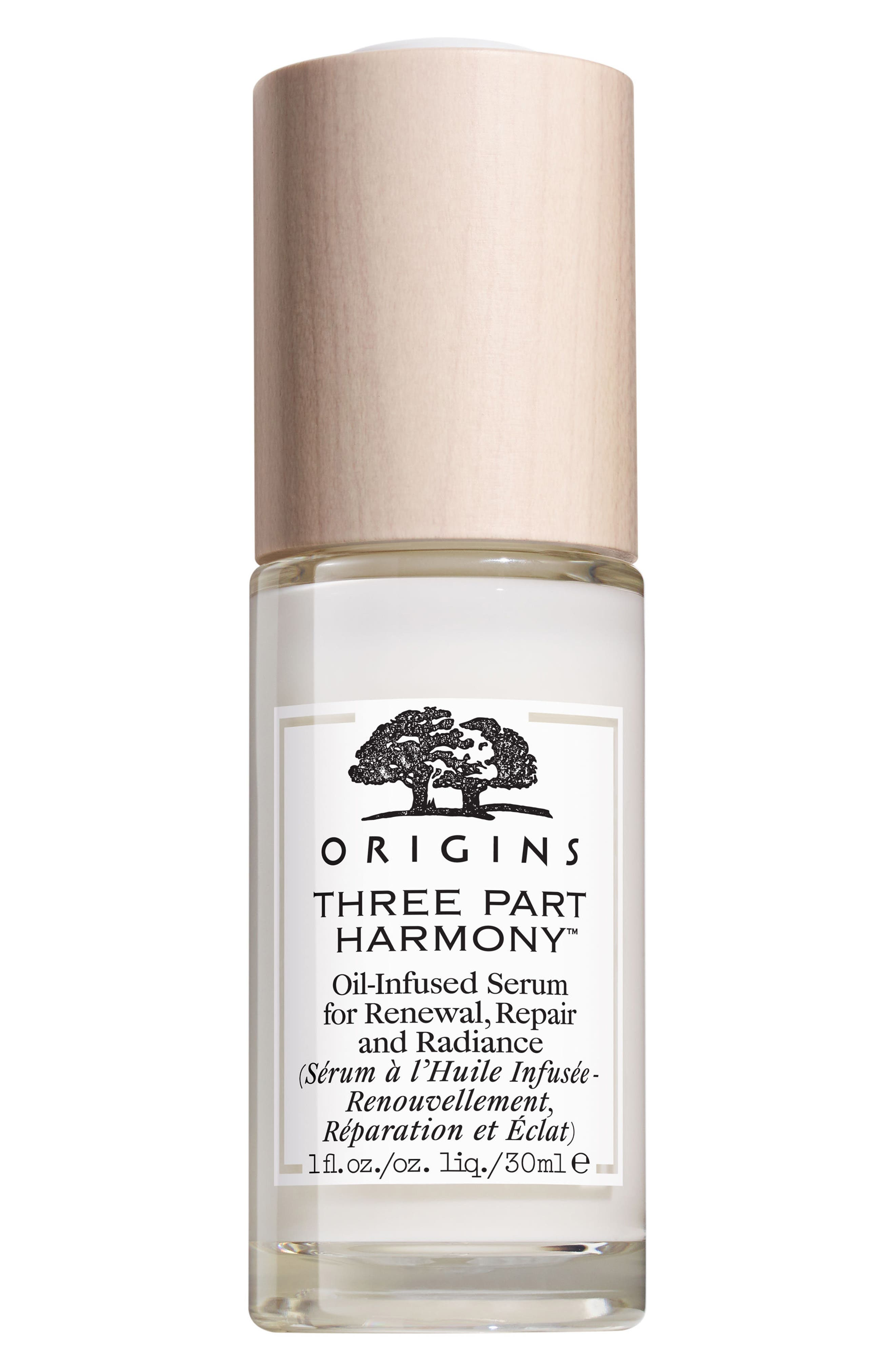 Three Part Harmony<sup>™</sup> Oil-Infused Serum for Renewal, Repair & Radiance,                             Main thumbnail 1, color,                             NO COLOR