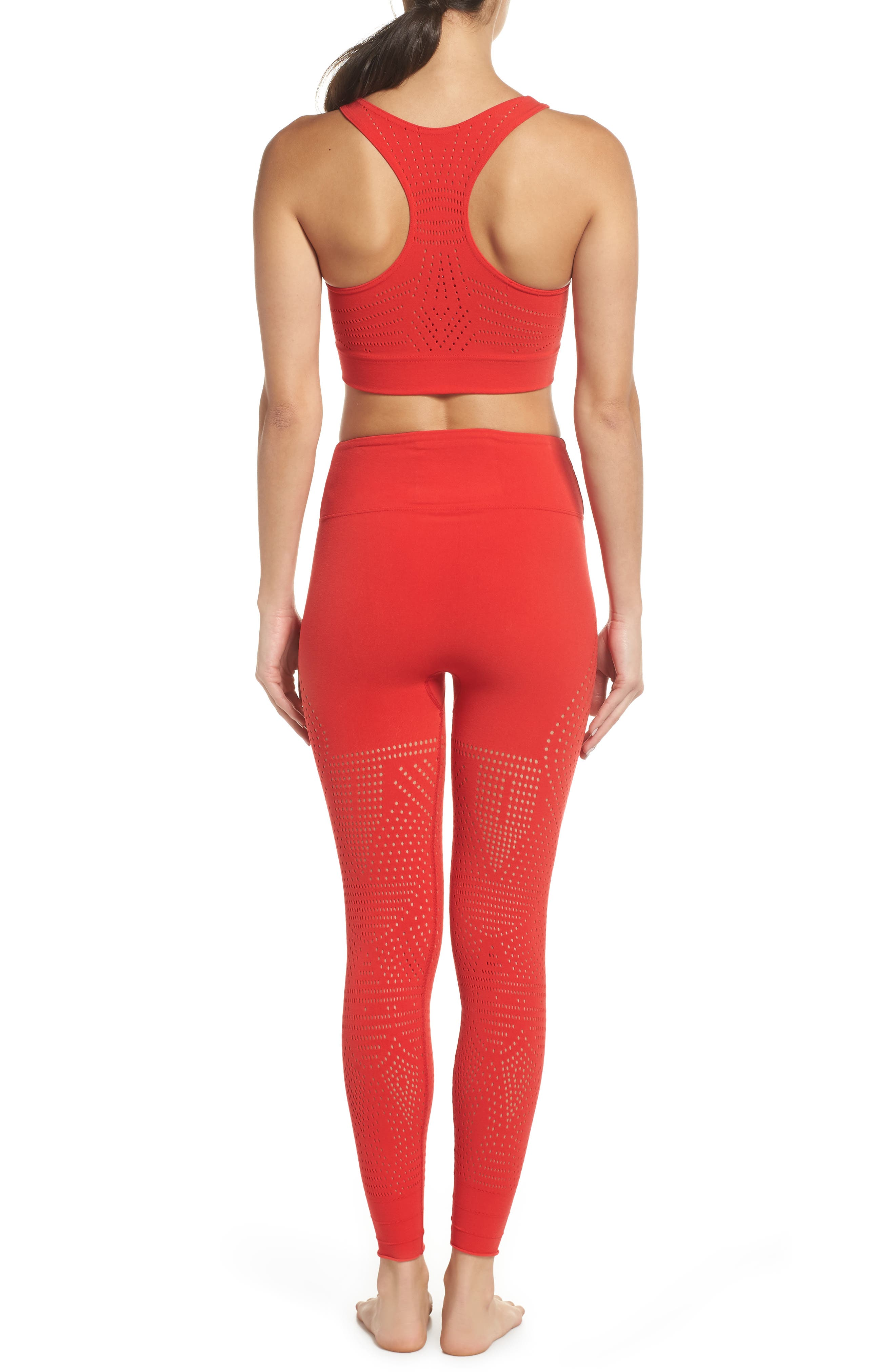 FP Movement Ecology Sports Bra,                             Alternate thumbnail 9, color,                             RED