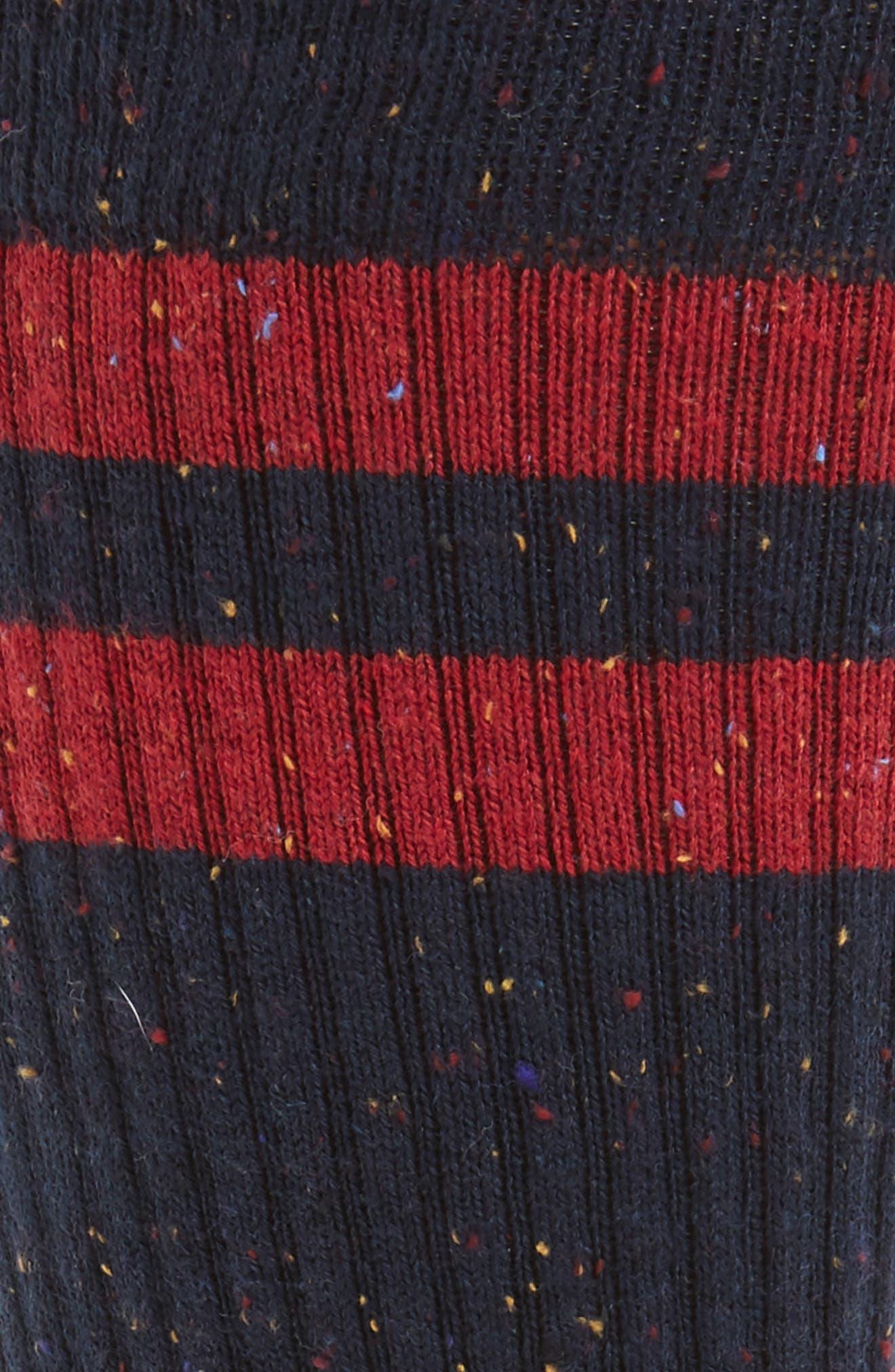 Lopsided Stripe Socks,                             Alternate thumbnail 2, color,                             610