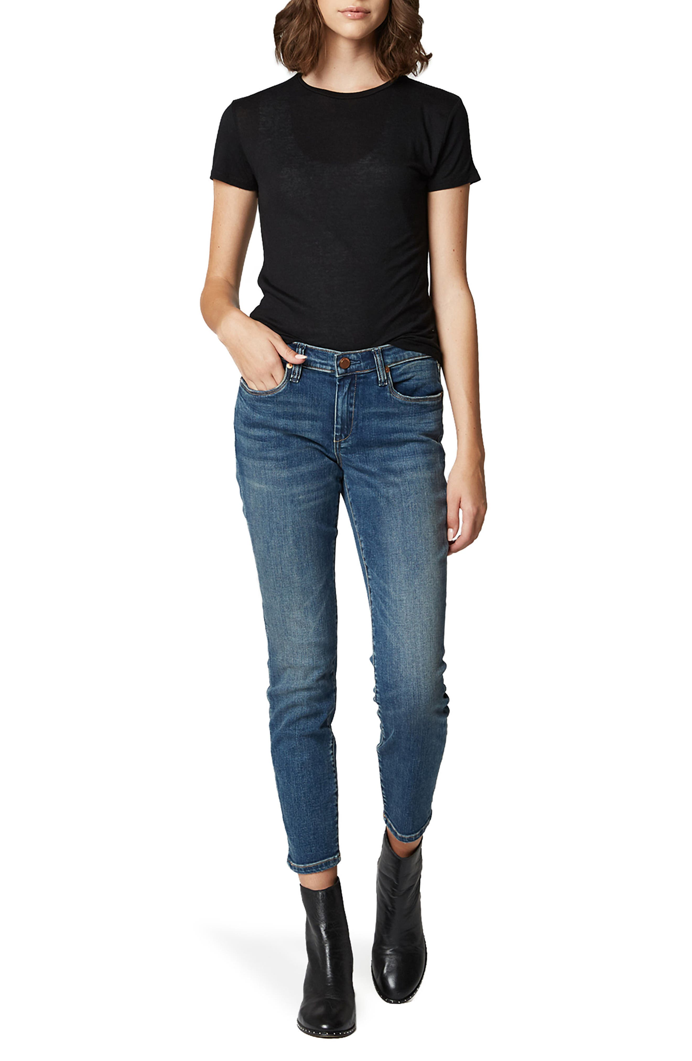 Skinny Jeans,                             Alternate thumbnail 4, color,                             VENDETTA
