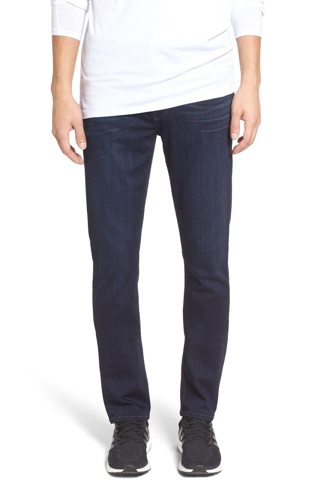 Transcend – Lennox Slim Fit Jeans,                         Main,                         color, RUSS BLUE