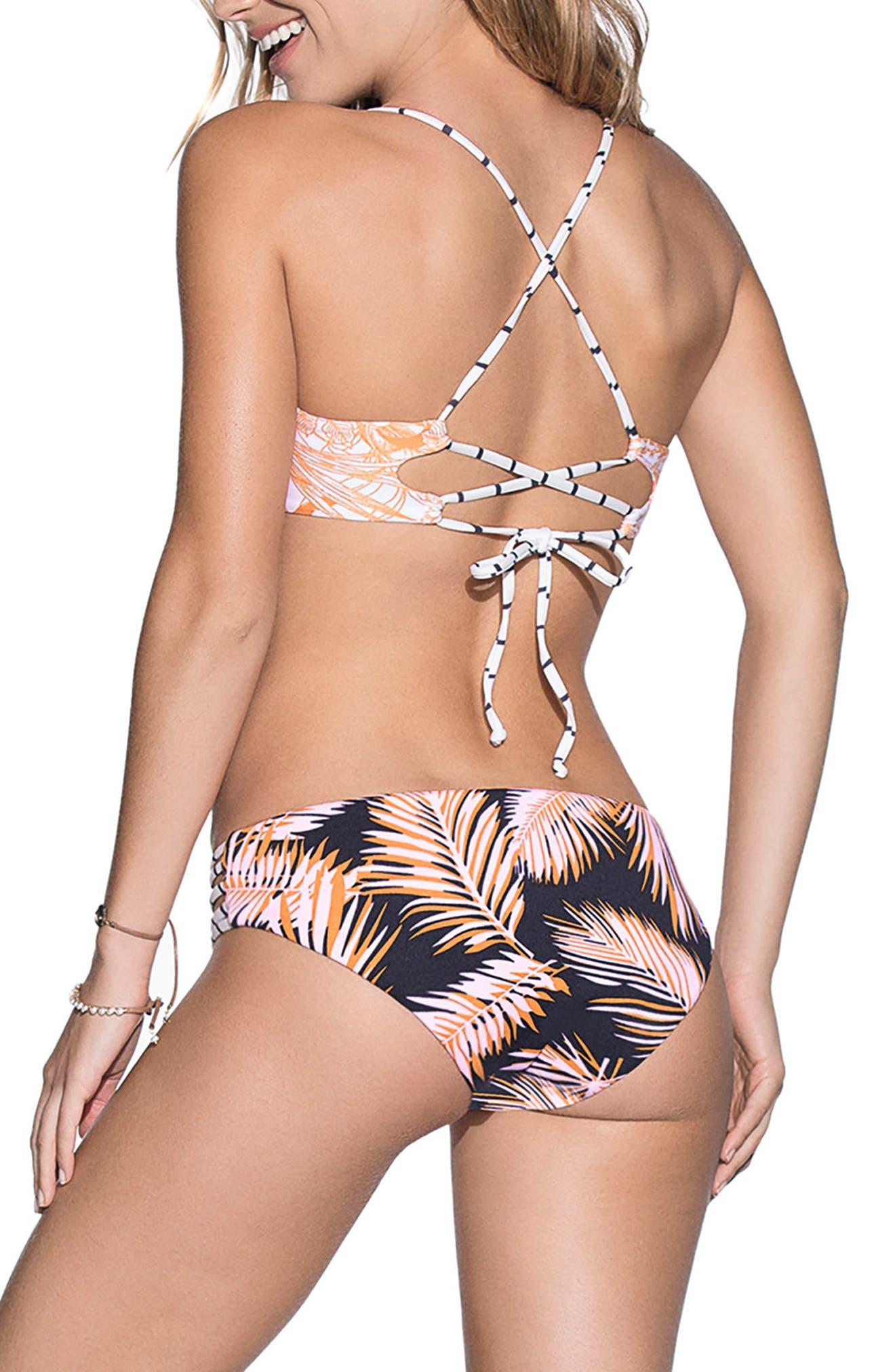 Caribbean Curuba Underwire Bikini Top,                             Alternate thumbnail 4, color,                             950