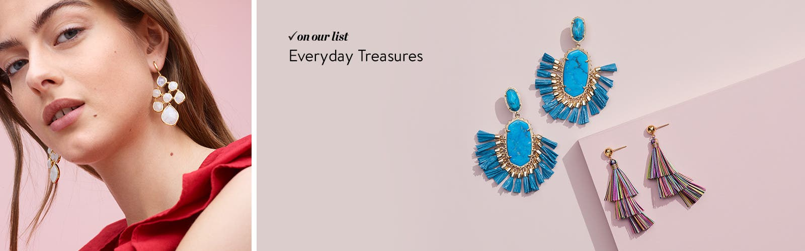 Women's must-have jewelry.