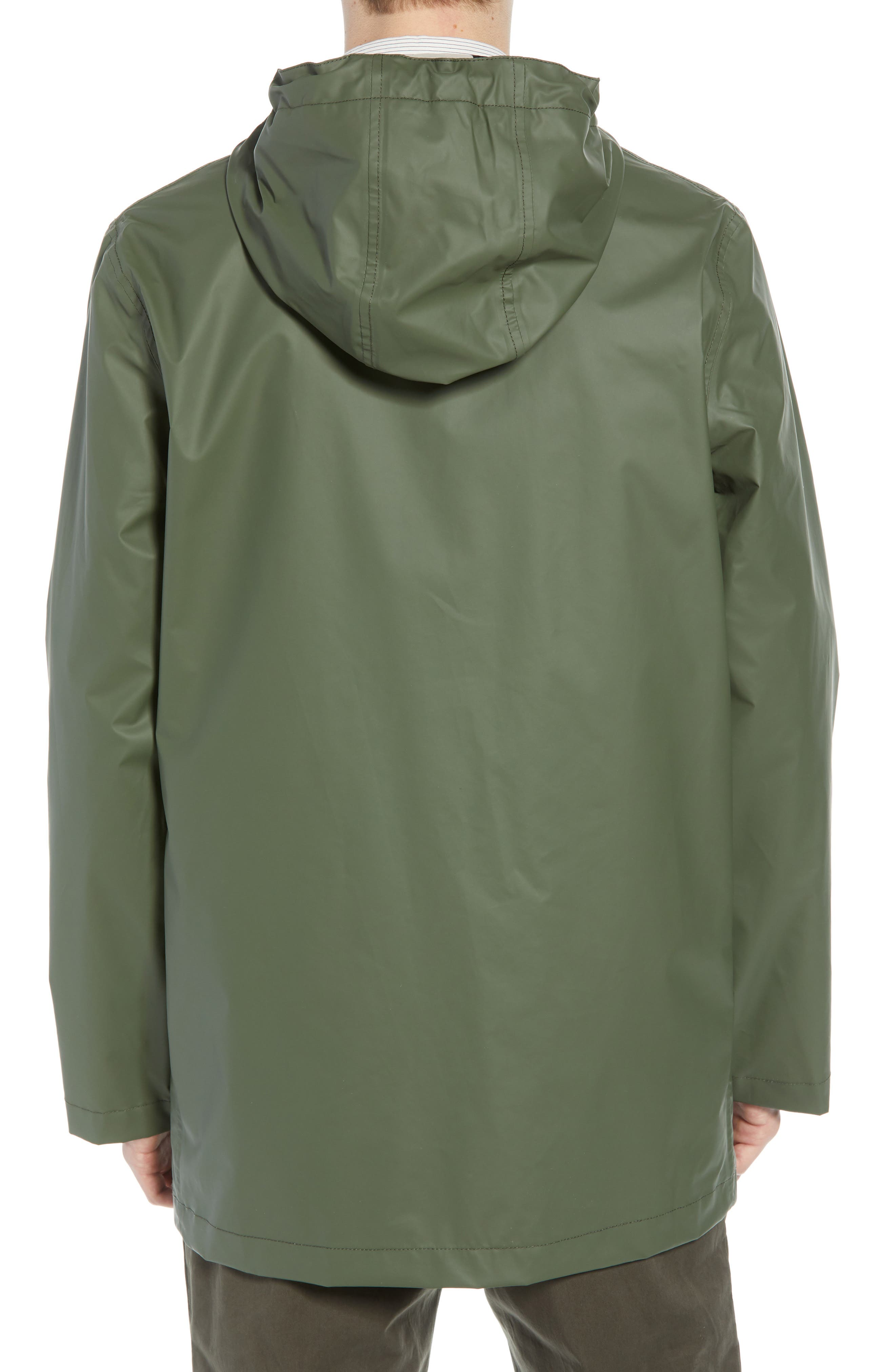 FRENCH CONNECTION,                             Rubber Coated Raincoat,                             Alternate thumbnail 2, color,                             300
