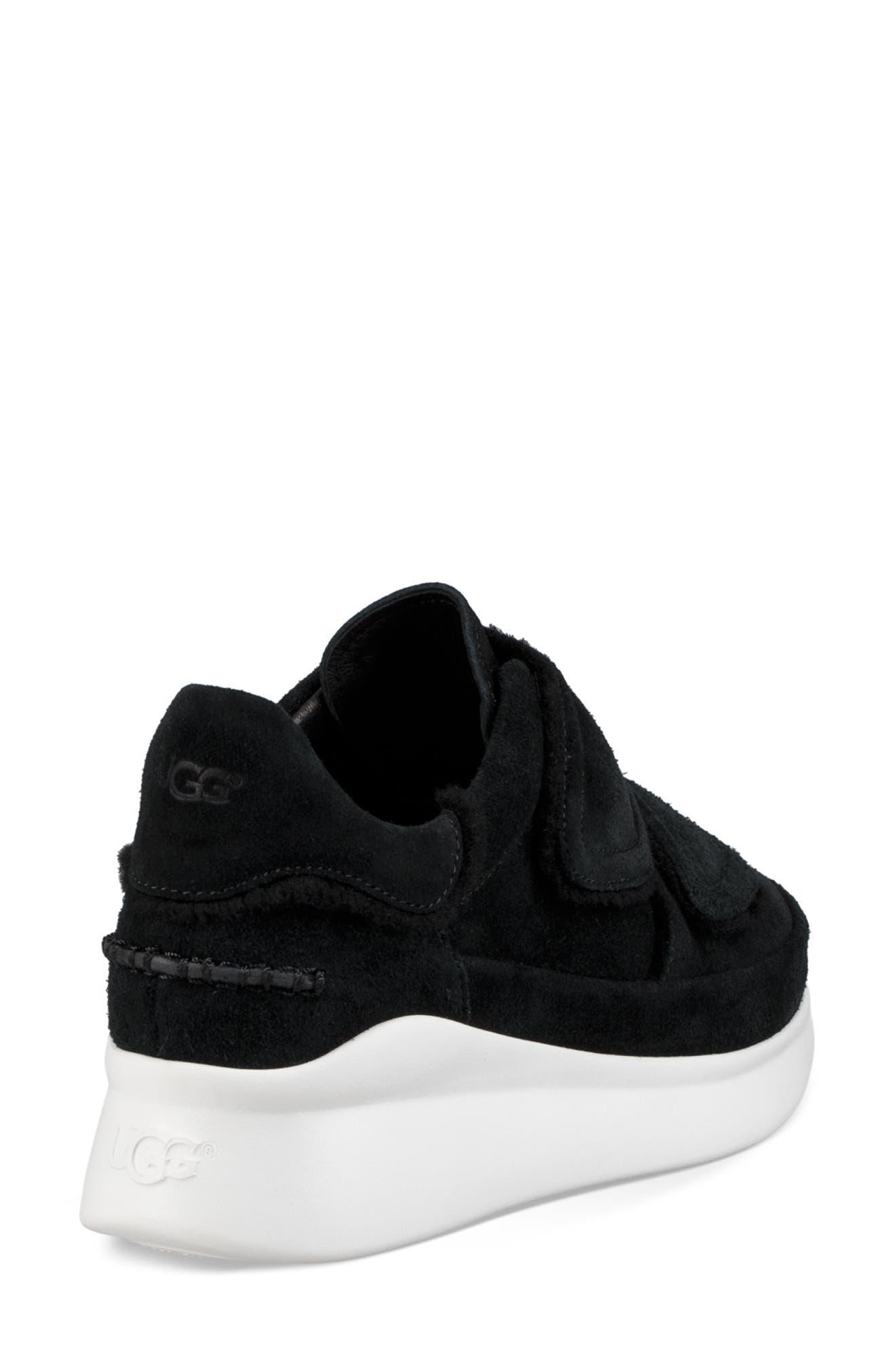 Ashby Spill Seam Sneaker,                             Alternate thumbnail 2, color,                             BLACK LEATHER