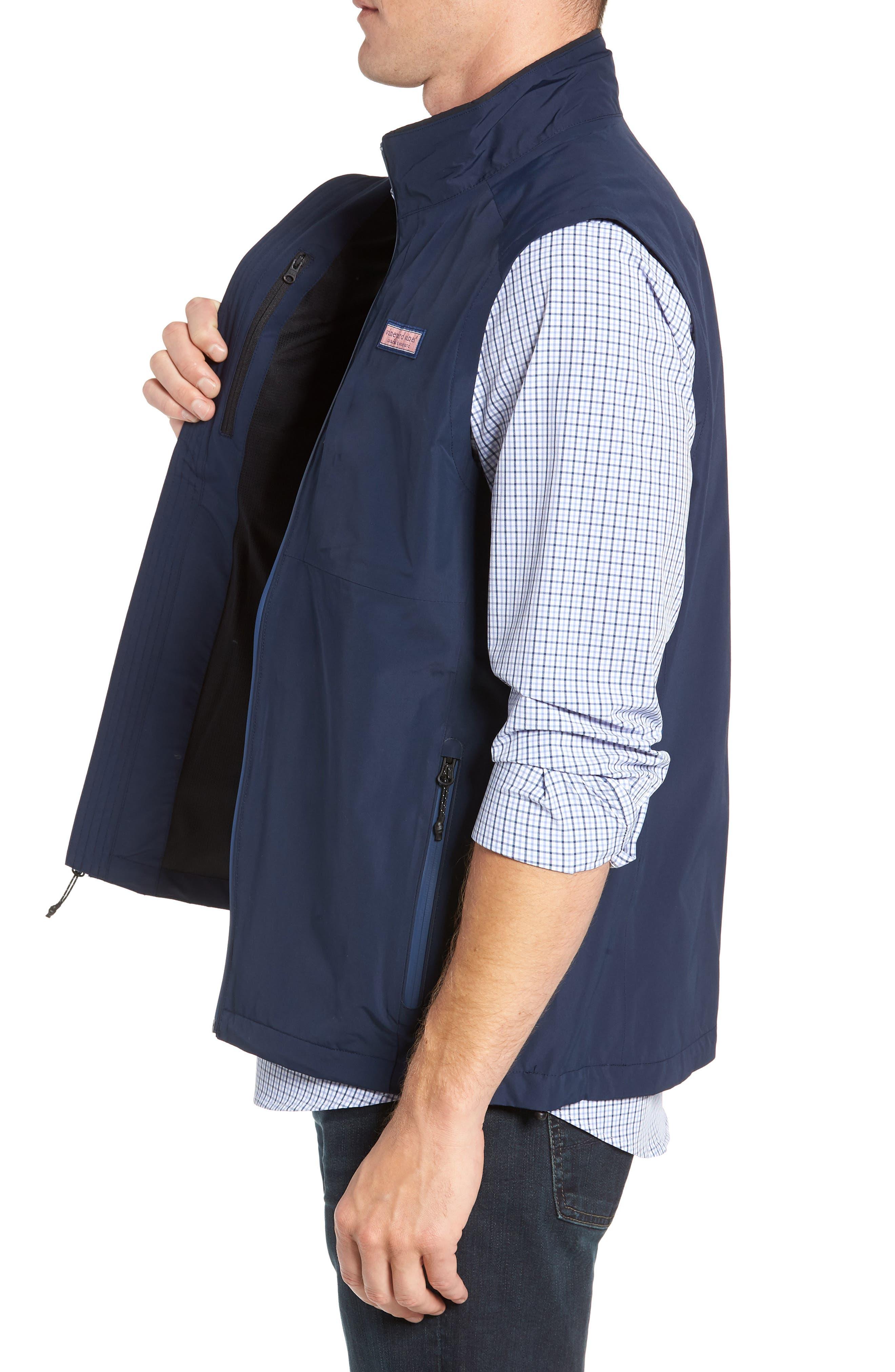 Tech Windbreaker Vest,                             Alternate thumbnail 3, color,                             410