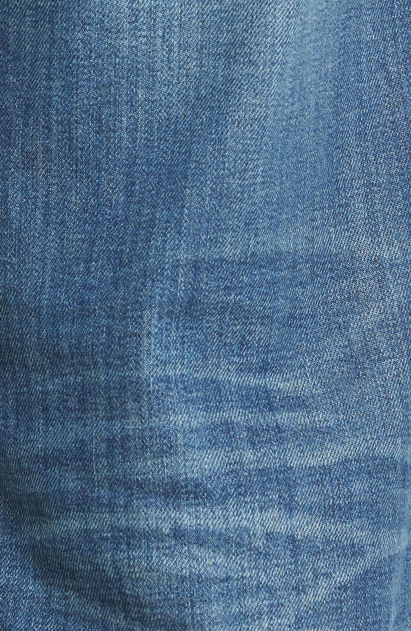 Classic Straight Fit Jeans,                             Alternate thumbnail 5, color,                             400