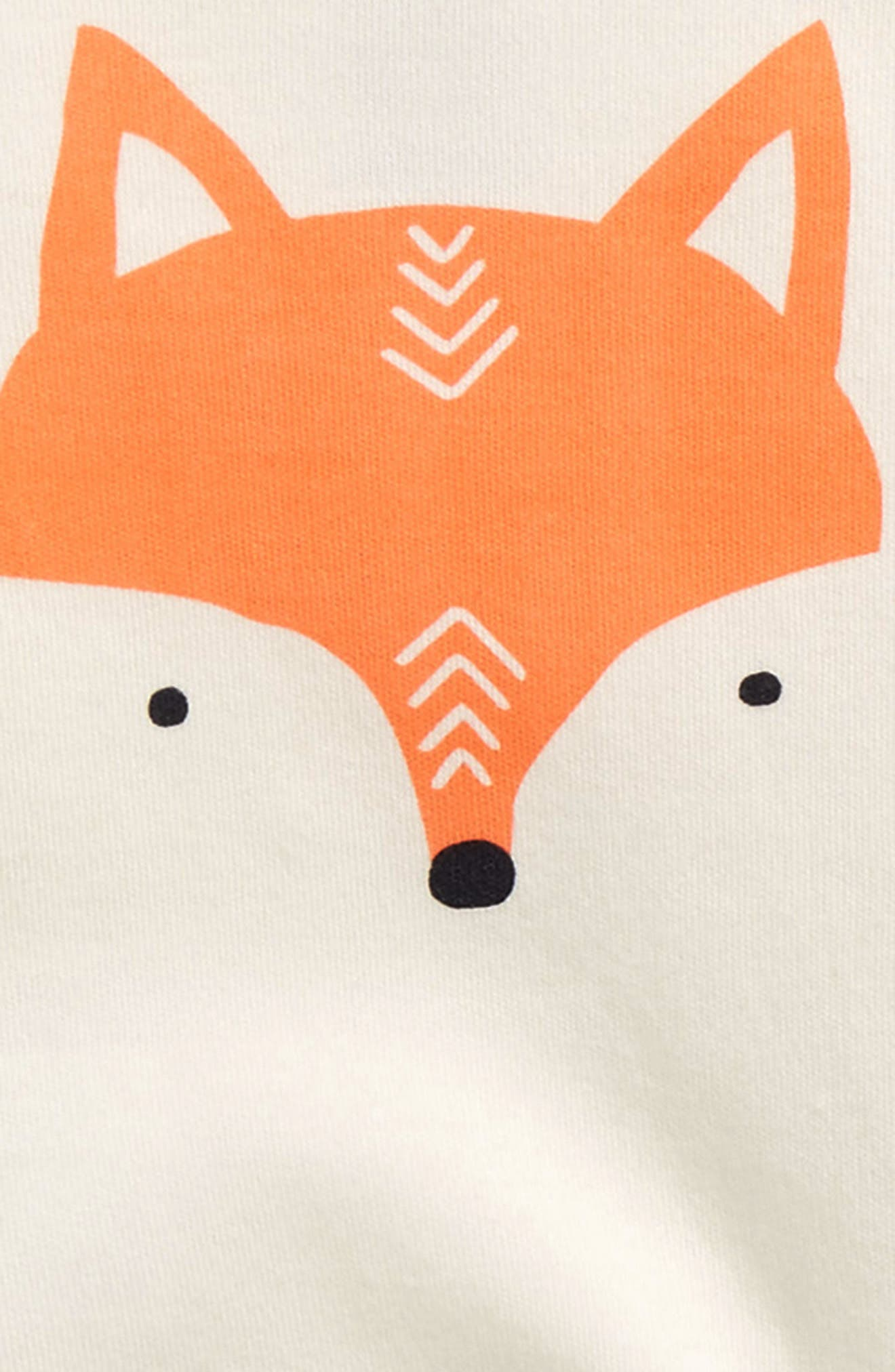 Fox Bodysuit & Pants Set,                             Alternate thumbnail 2, color,                             900
