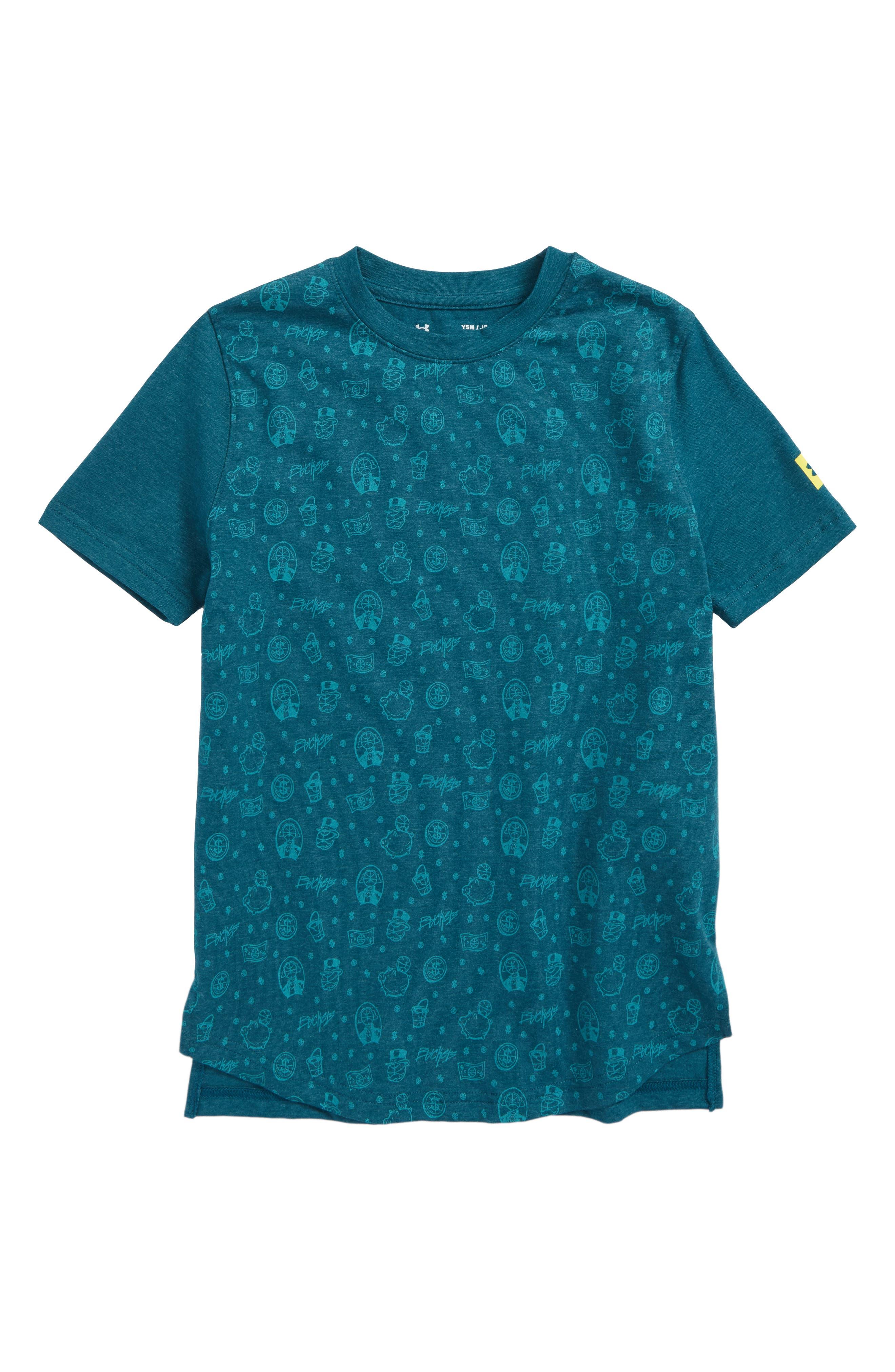Baseline HeatGear<sup>®</sup> T-Shirt,                             Main thumbnail 1, color,                             440
