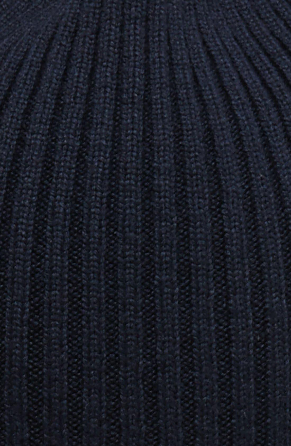 Rib Knit Wool Beanie,                             Alternate thumbnail 17, color,