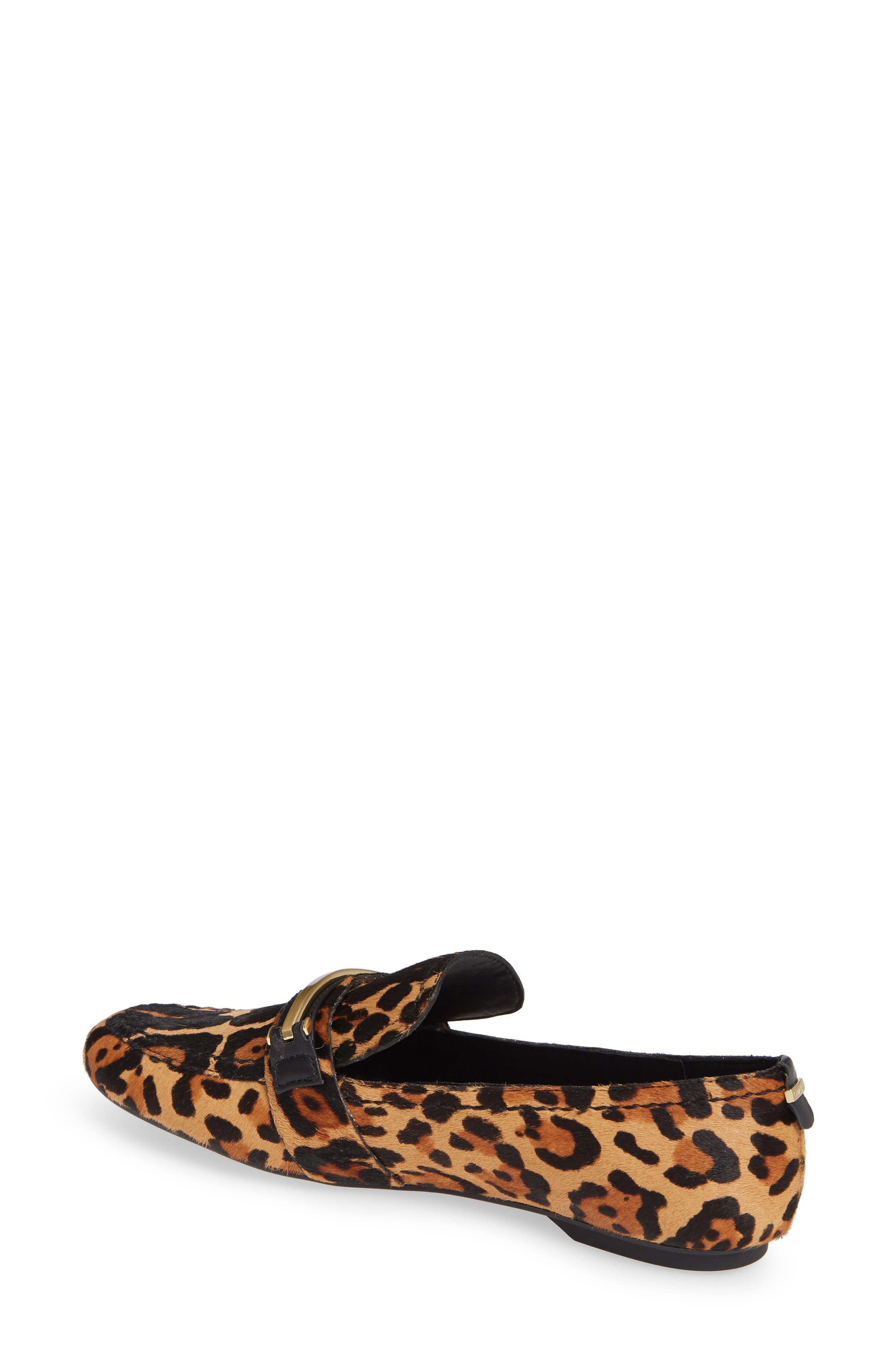 Orianna Genuine Calf Hair Loafer,                             Alternate thumbnail 2, color,                             LEOPARD CALF HAIR