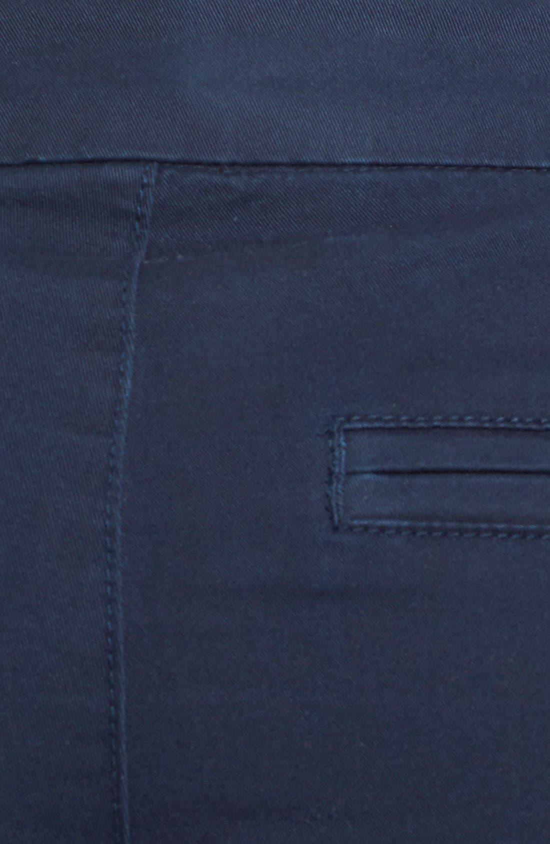 'Ainsley' Slim Bermuda Shorts,                             Alternate thumbnail 19, color,