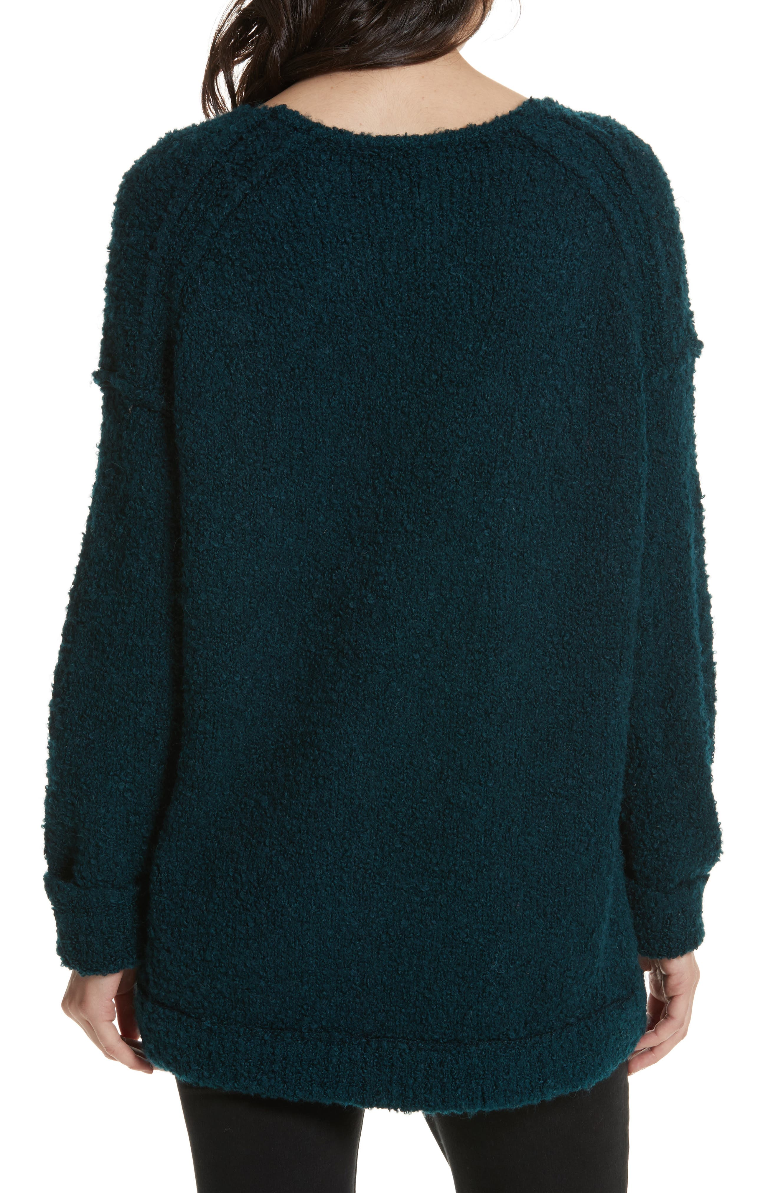 Lofty V-Neck Sweater,                             Alternate thumbnail 9, color,