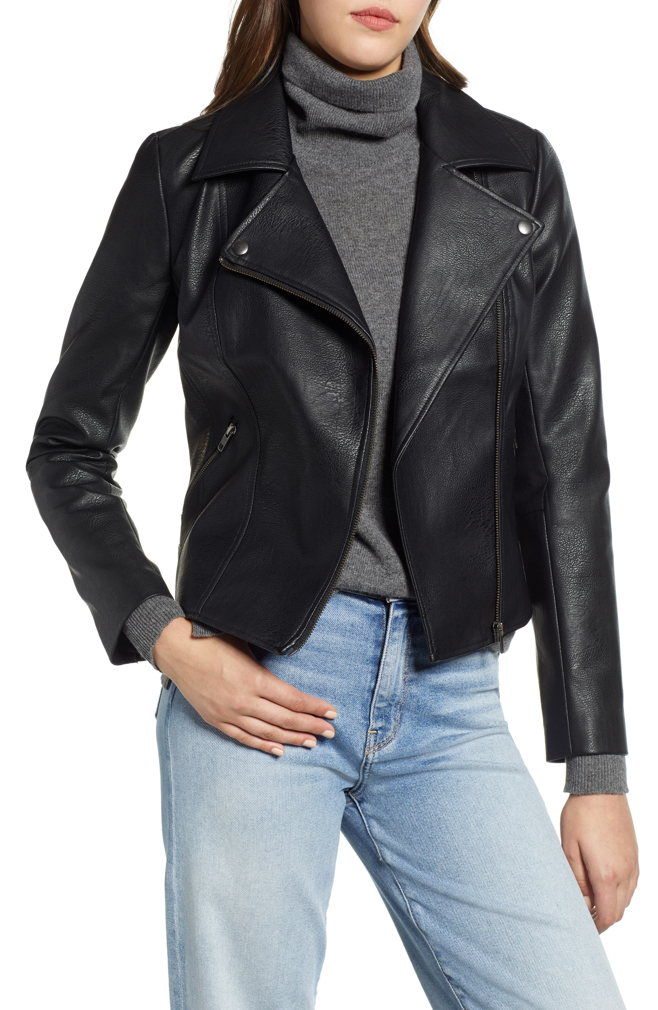 Moto Jacket,                         Main,                         color, 001