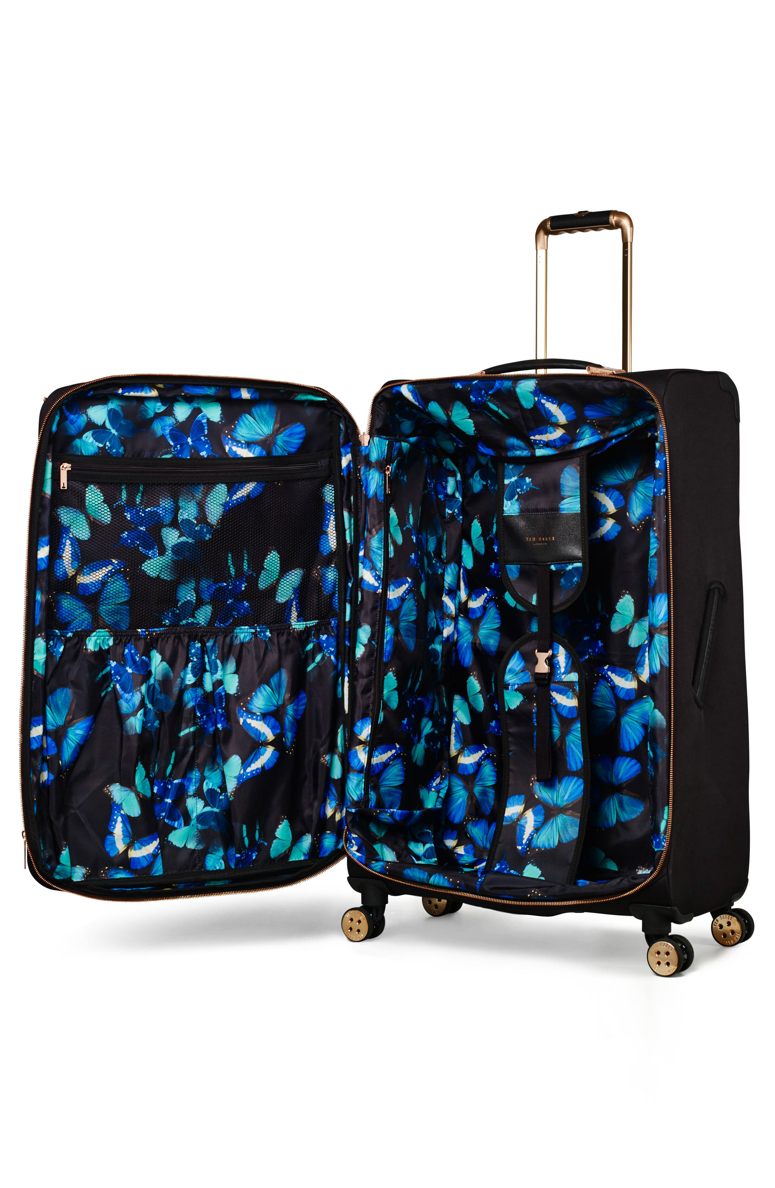 32-Inch Trolley Packing Case,                             Alternate thumbnail 5, color,                             BLACK