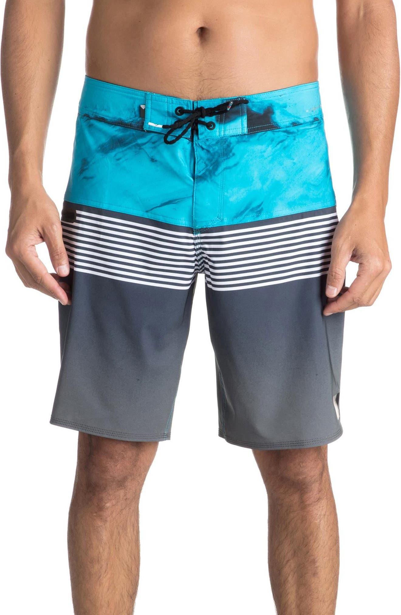 Highline Lava Division Board Shorts,                             Main thumbnail 1, color,                             002