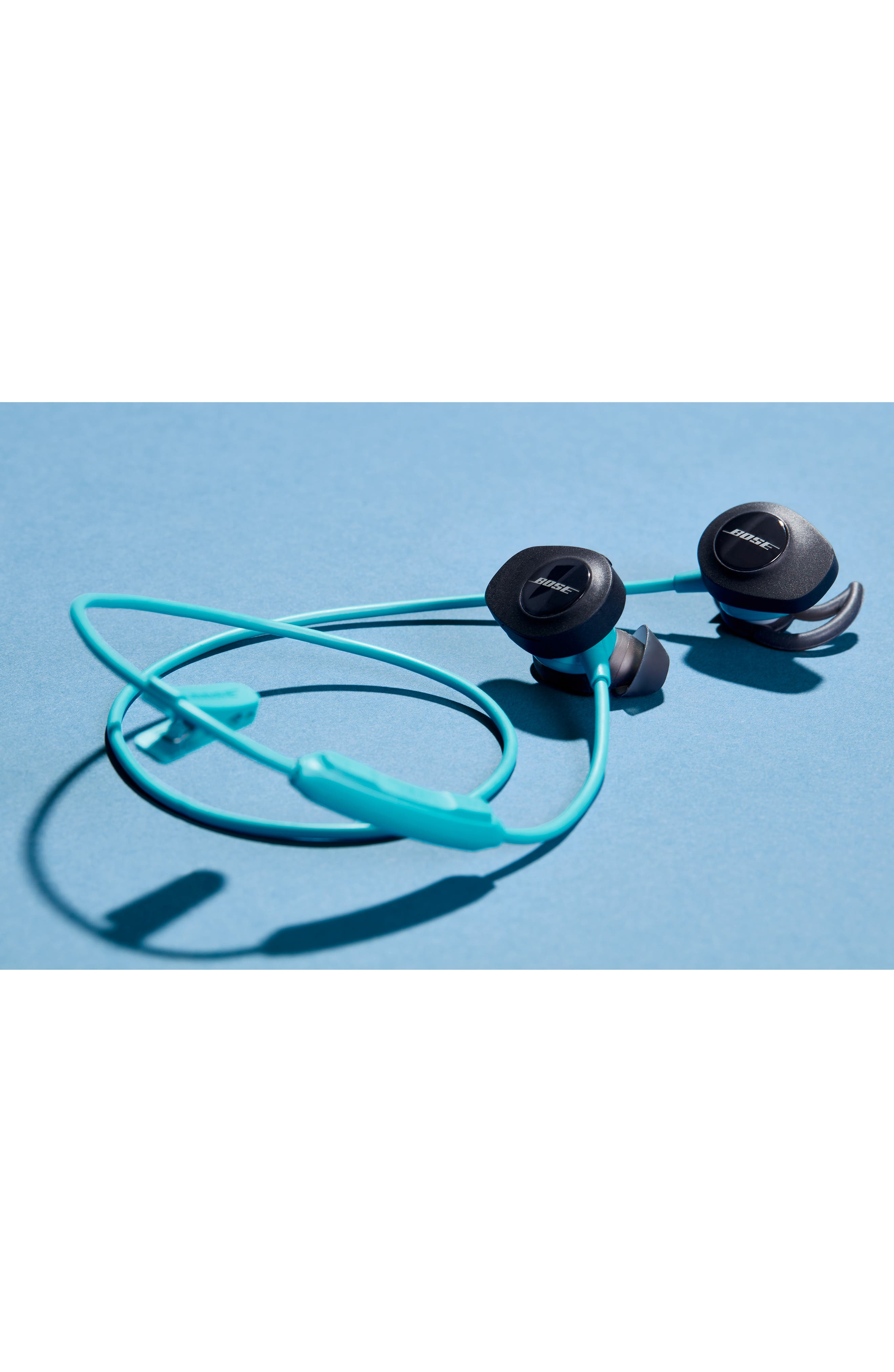 SoundSport<sup>®</sup> Wireless Headphones,                             Alternate thumbnail 9, color,                             BLACK